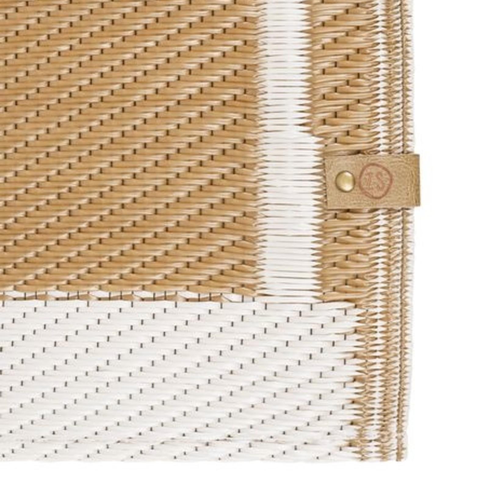 Zusss Buitenkleed - Grafisch patroon - Zand - 120x180cm
