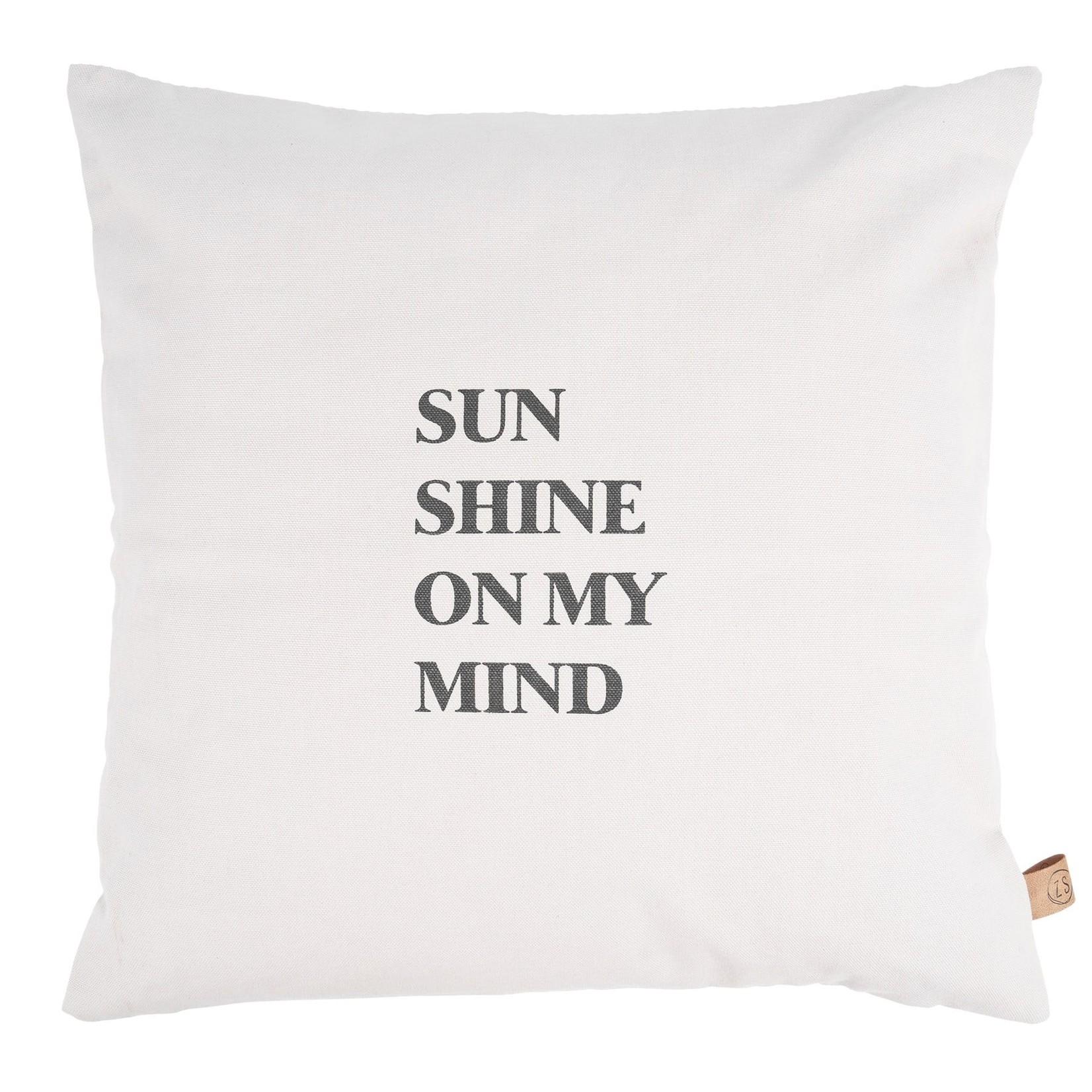 Buitenkussen sunshine 45x45cm zand Zussss