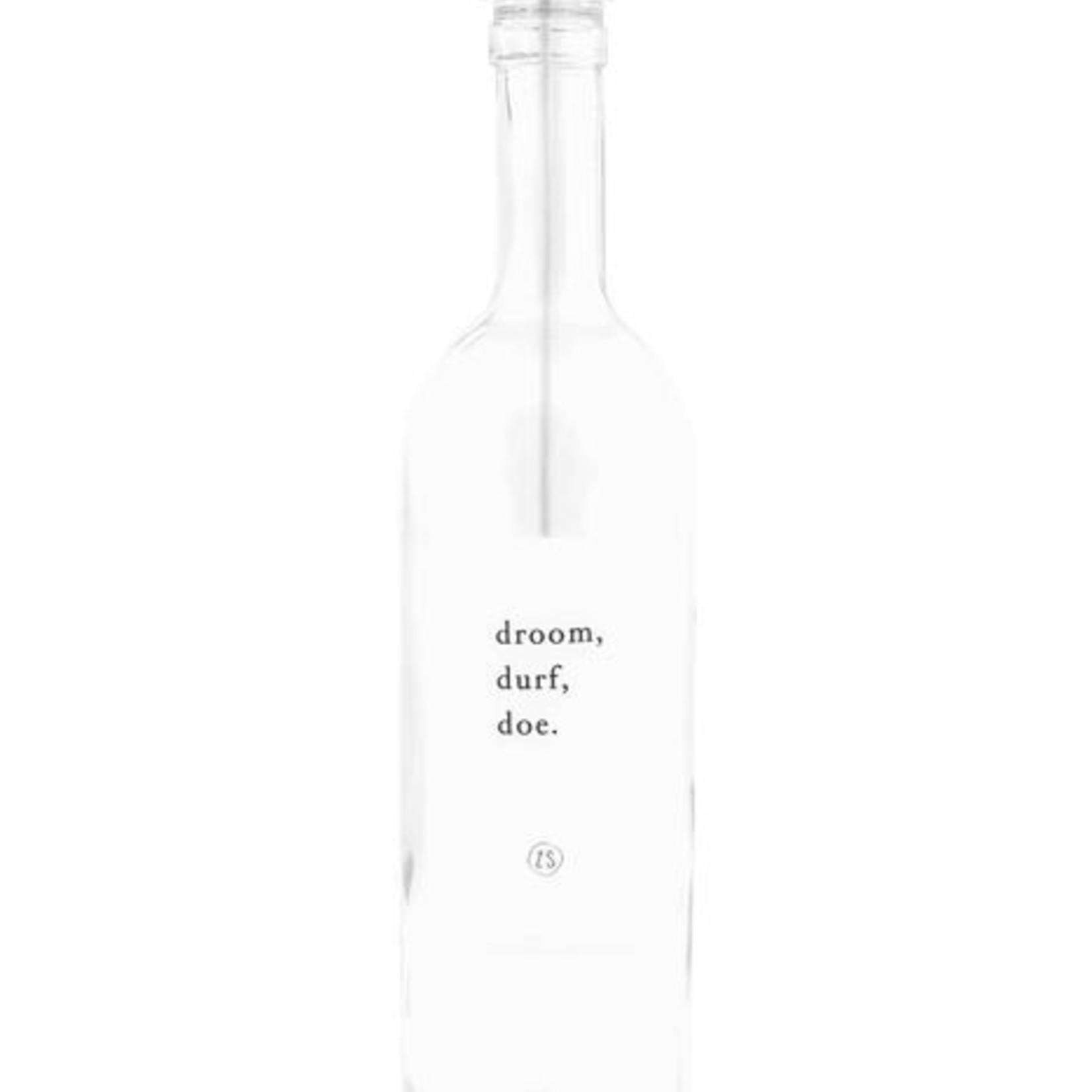Zusss Kaarsenhouder voor fles - Wit