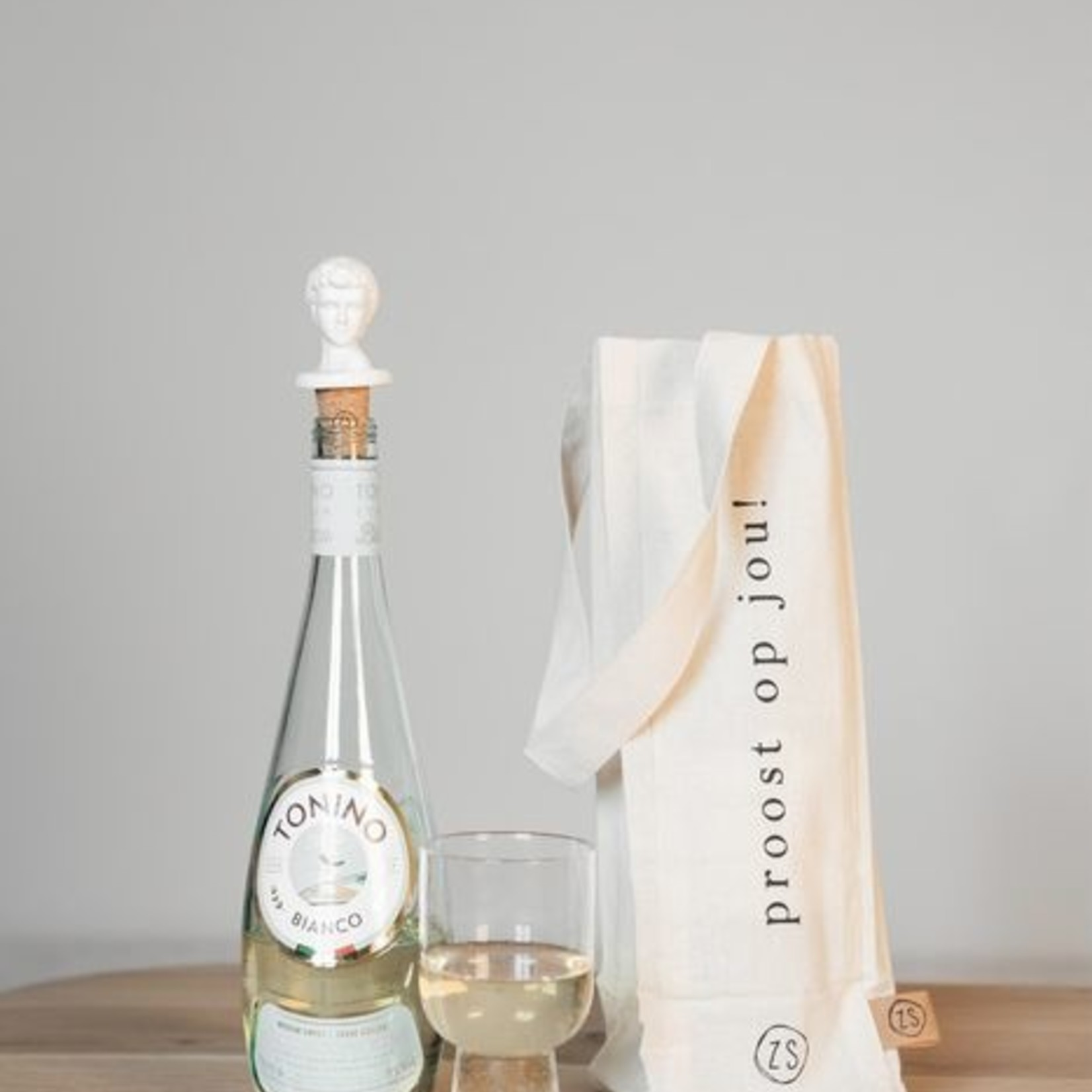 Zusss Cadeautasje voor wijn - Proost op jou!