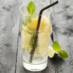 Point Virgule Cocktail rietjes - Zwart - Set van 4