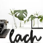"""Zoedt Woord """"Lach"""" - Hout - Zwart"""