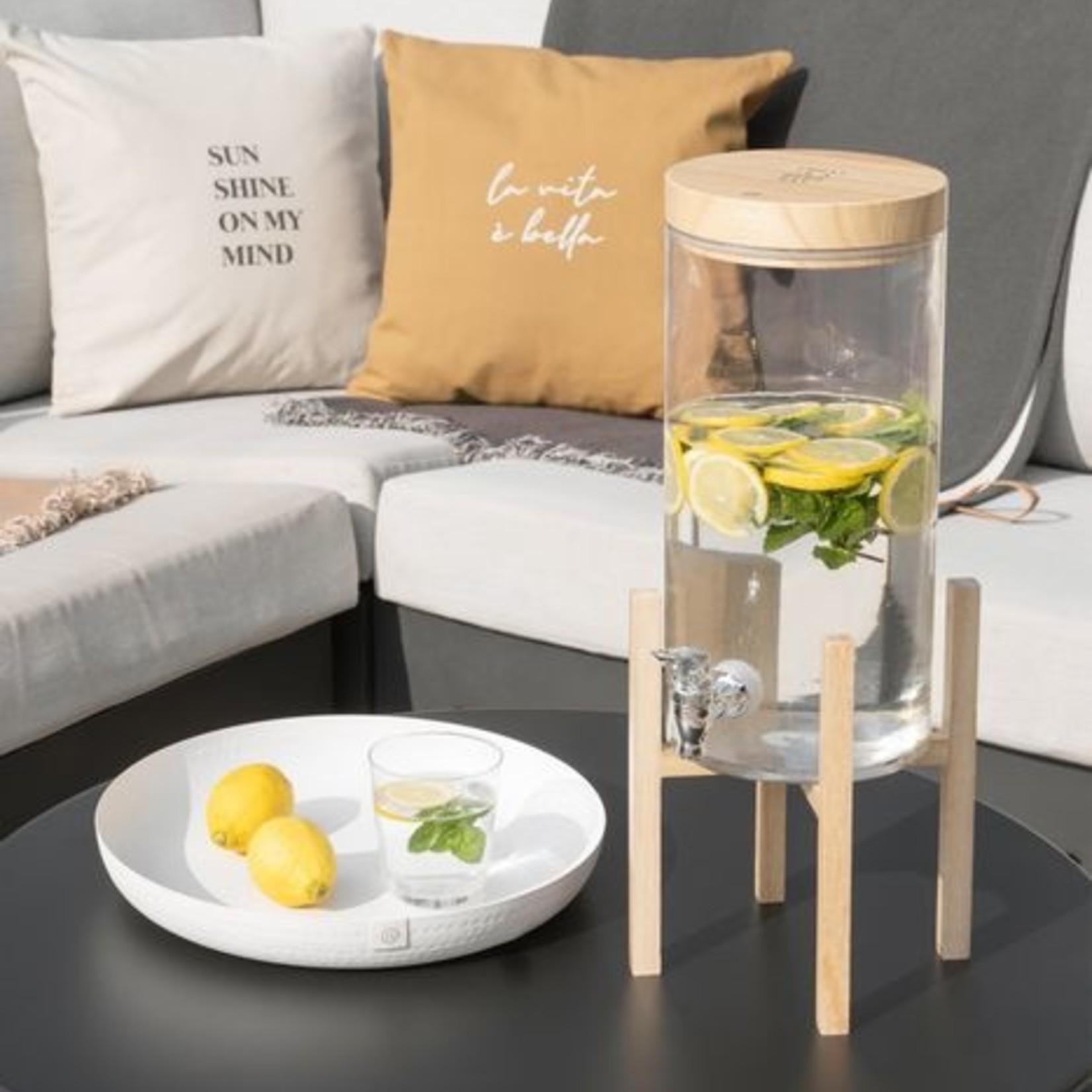 Zusss Houten voet voor limonadetap