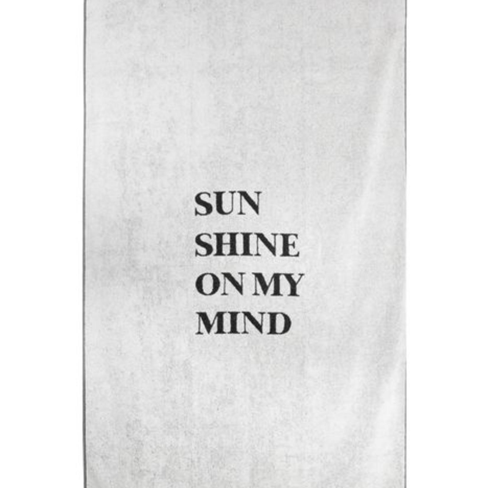 Zusss Strandlaken - Sunshine - 90x220cm - Grijs