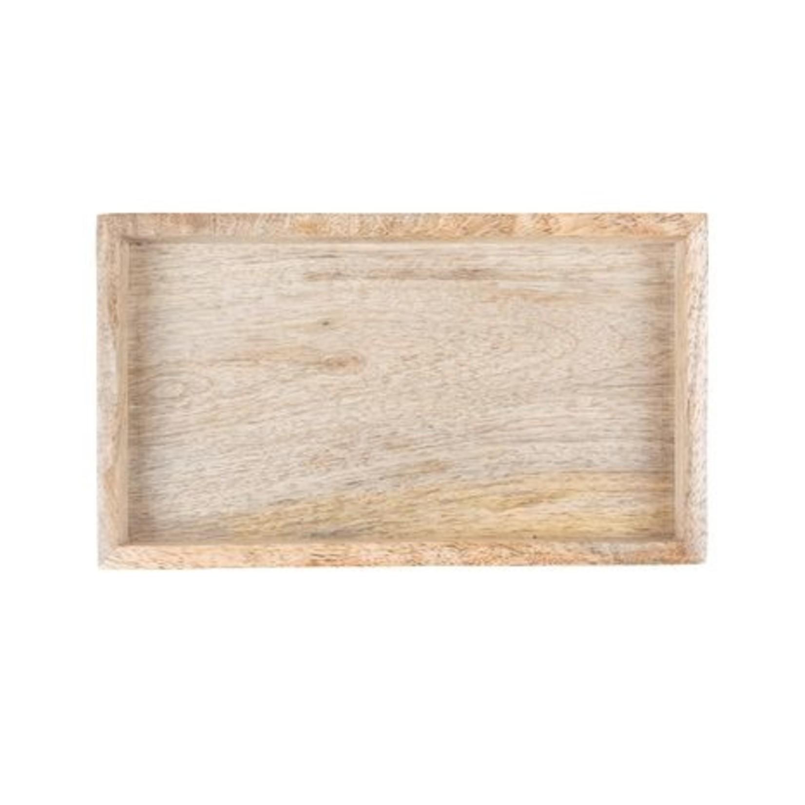Zusss Dienblad - Hout - 19.5cm x 2.5cm x 11cm
