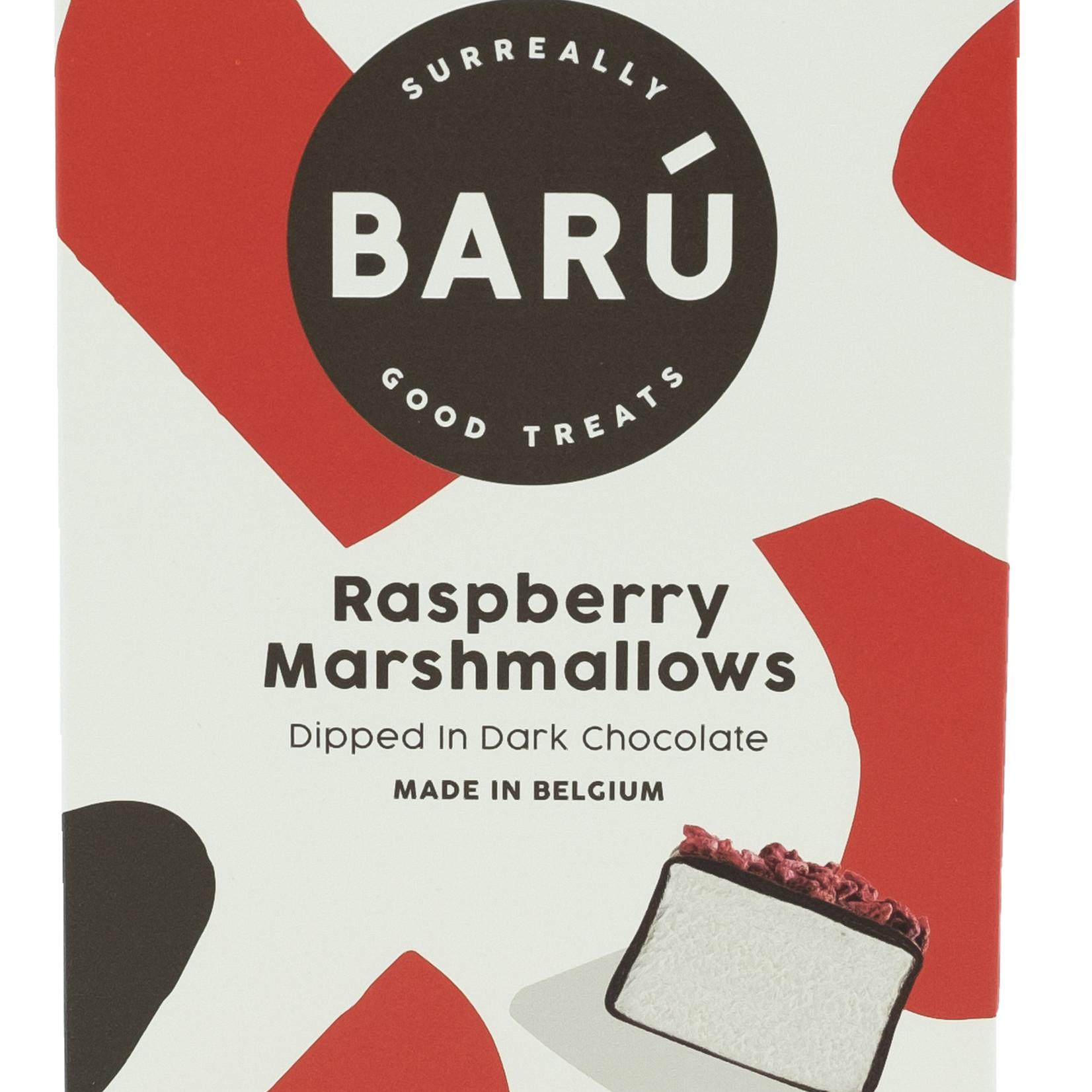 Barú Marshmallows - Dark choc & Raspberry - Groot