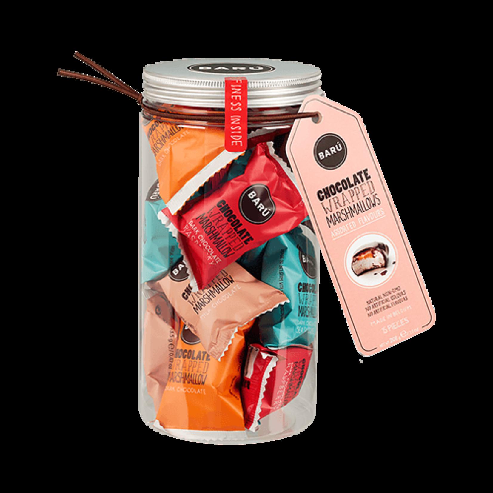 Barú Marshmallow Gift Jar (mixed)