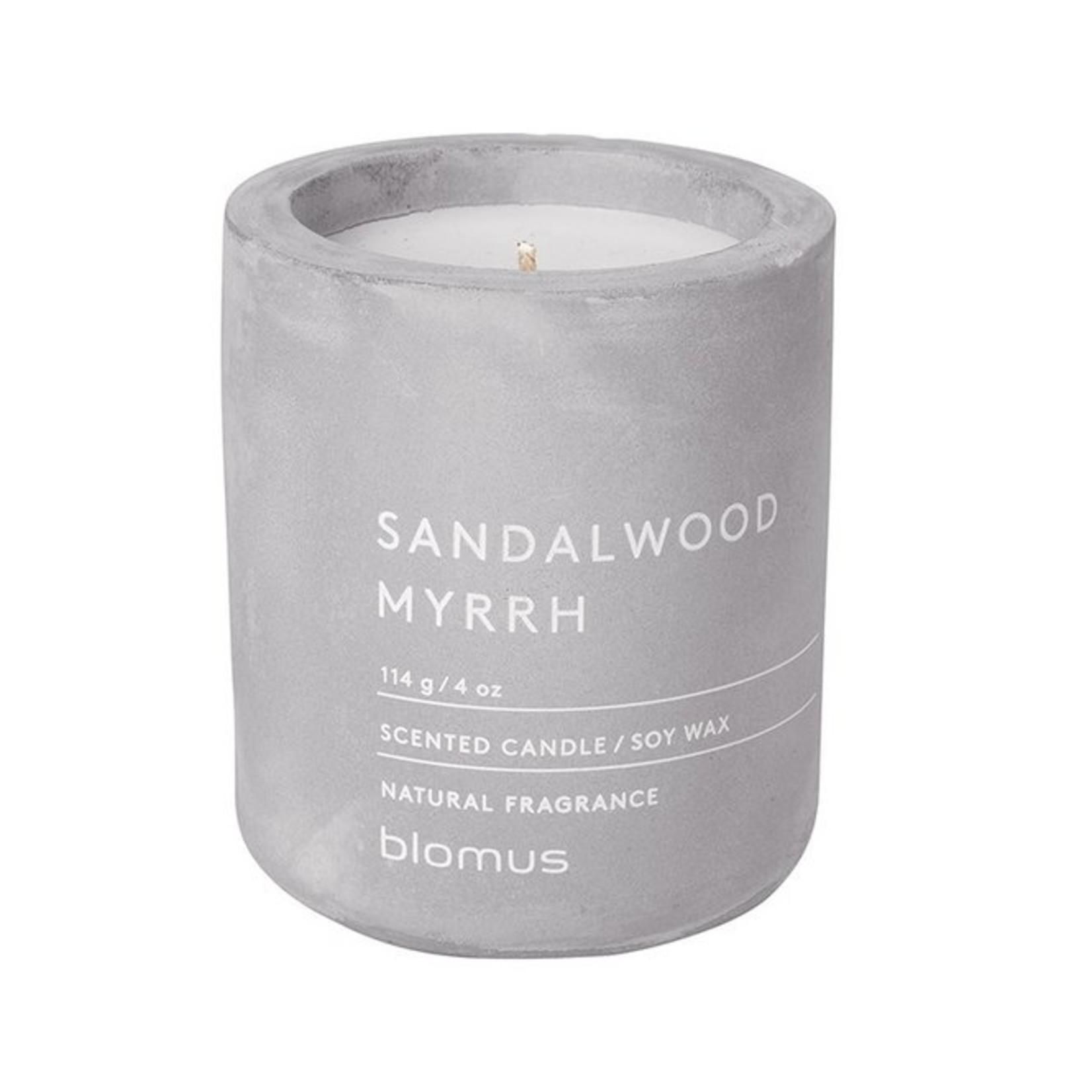 Blomus Geurkaars Medium - Sandelwood myrrh - Micro chip
