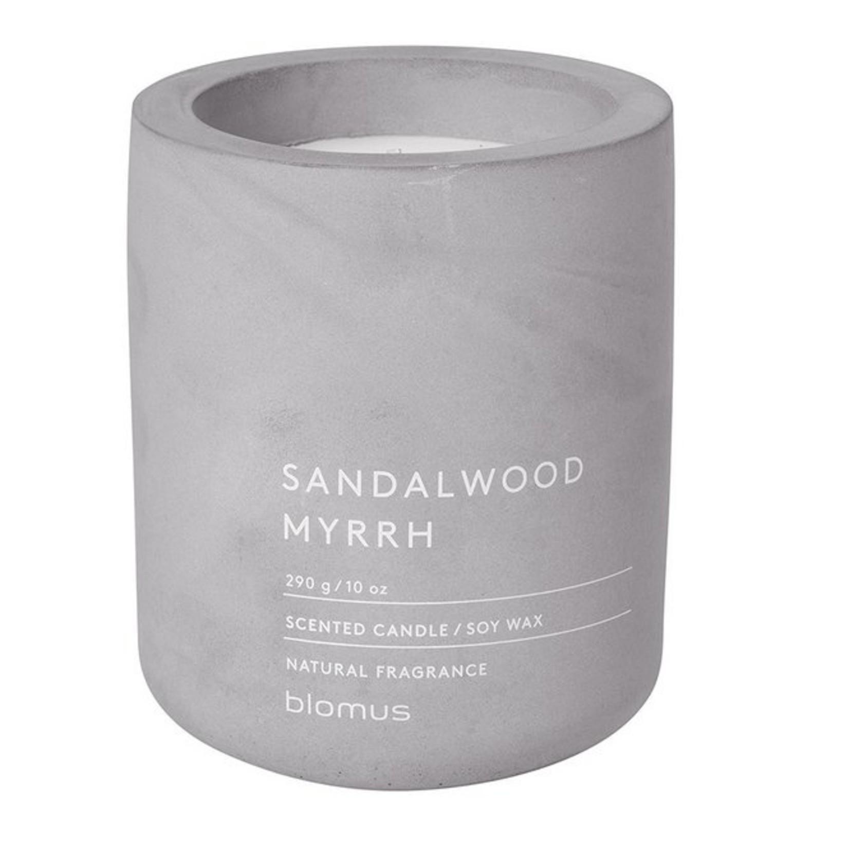 Blomus Geurkaars Large - Sandelwood myrrh - Micro chip
