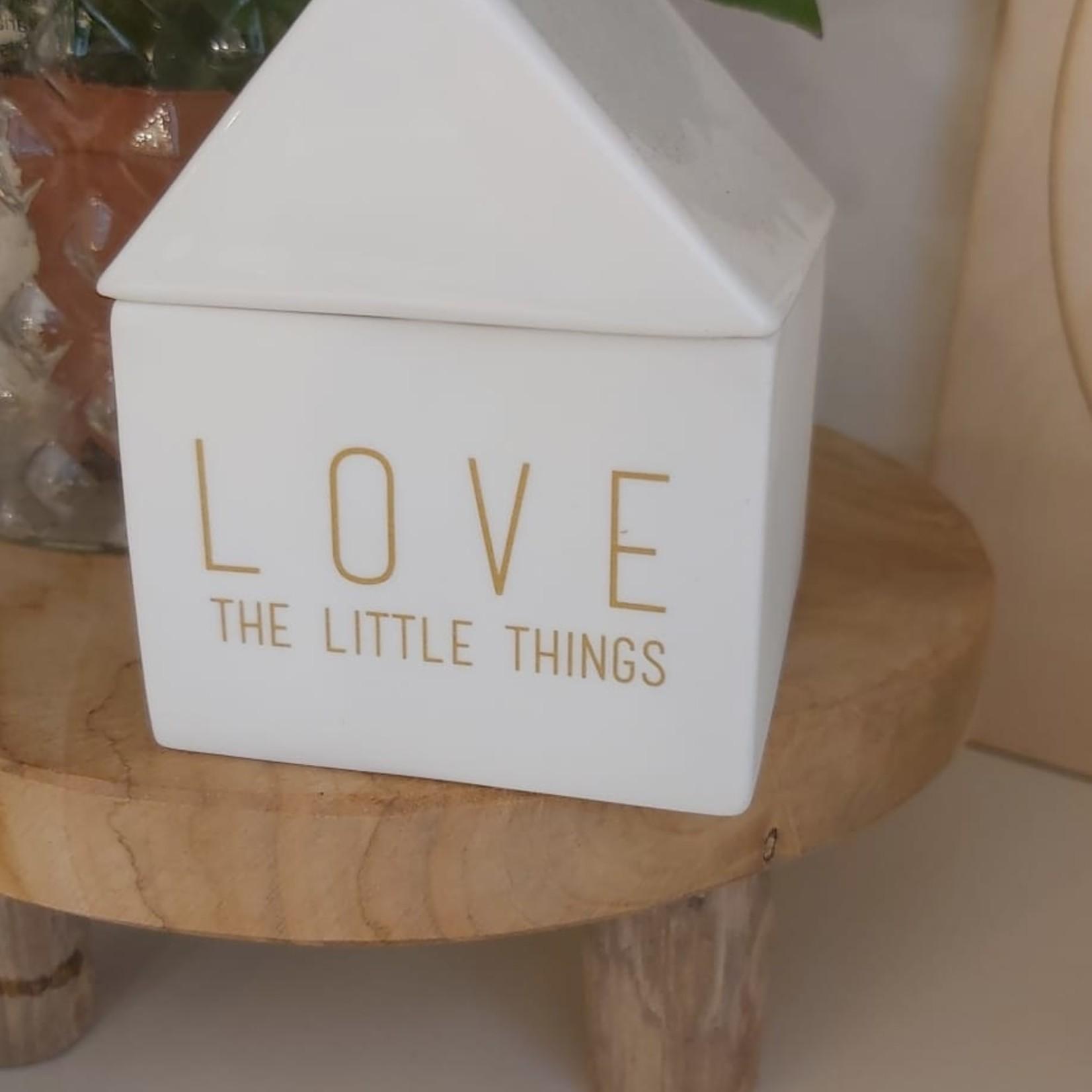 Räder Huisje 'Love the little things'