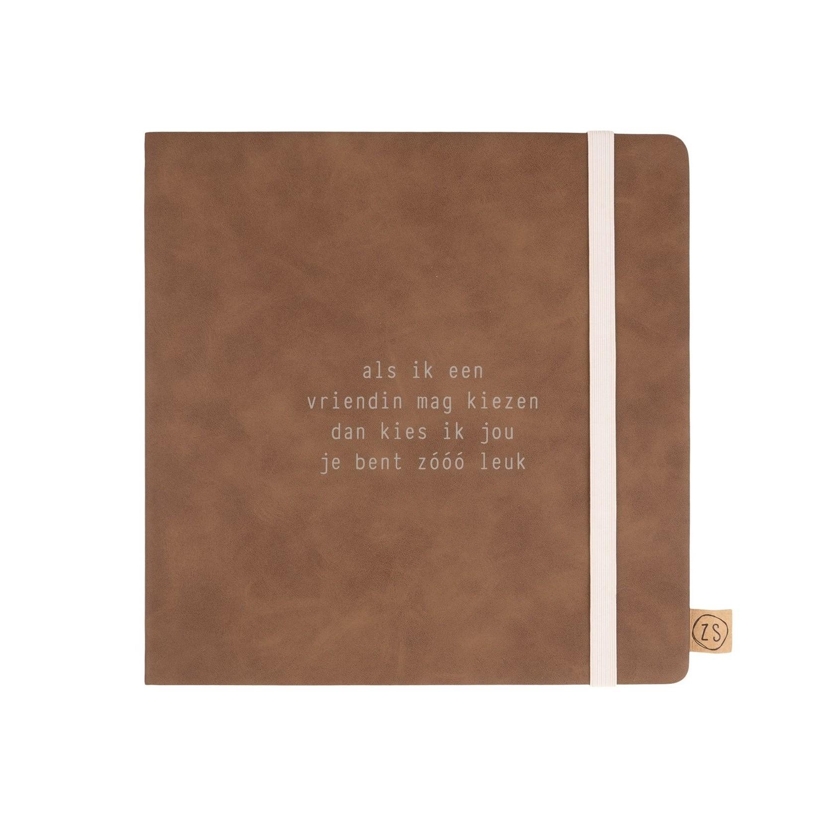 """Zusss Vriendinnenboek - """"Als ik een vriendin mag kiezen, ..."""" - Cognac"""