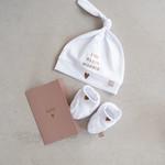 Zusss Babymutsje - Lief klein moppie - Wit