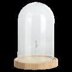 Glazen stolp met clip