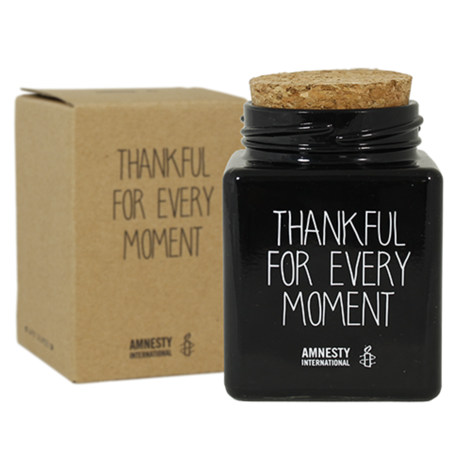 My Flame Sojakaars - Thankful for every moment - Zwart
