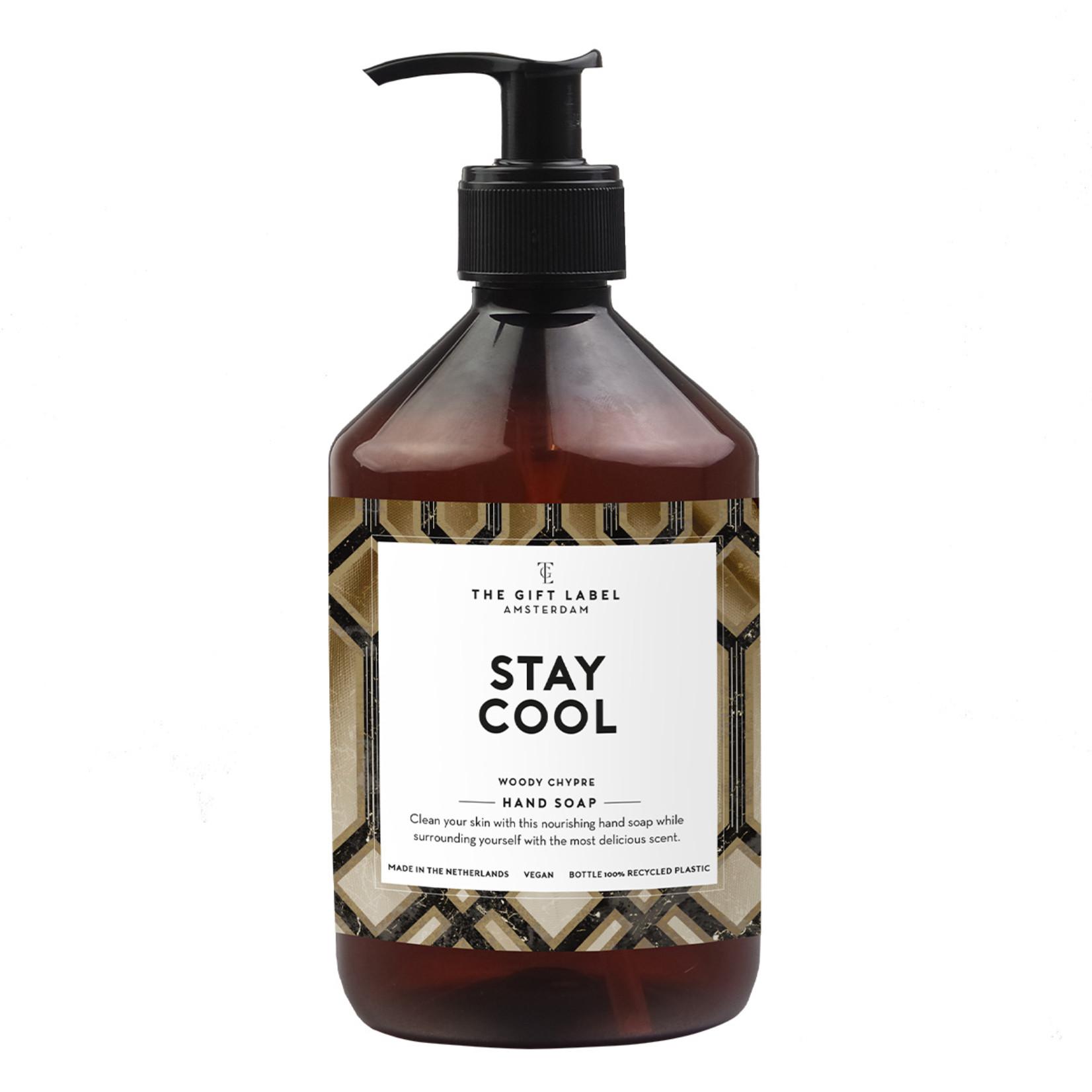 The gift label Handzeep - Men - Stay cool
