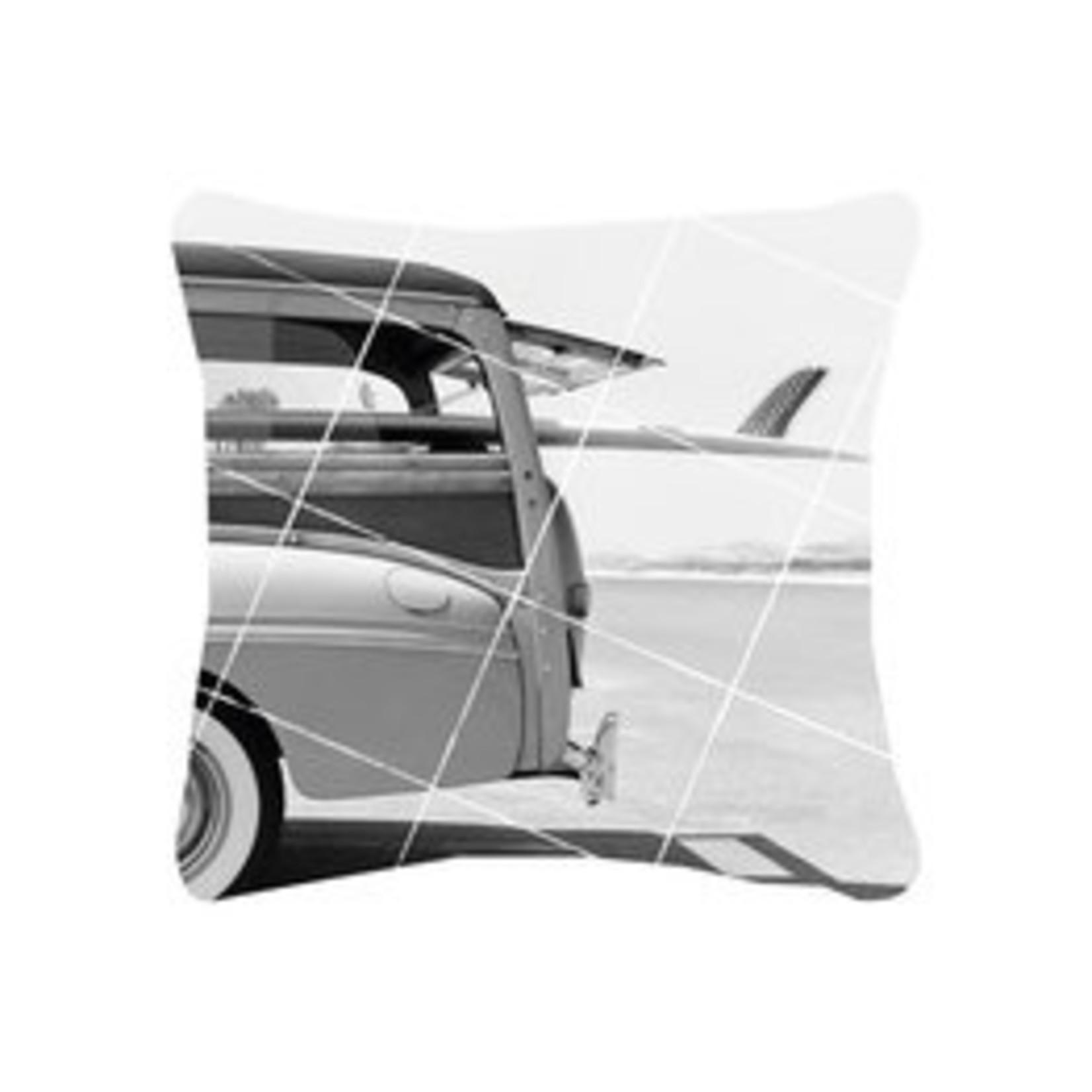 Zoedt Buitenkussen - Auto/Surfplank - Wit