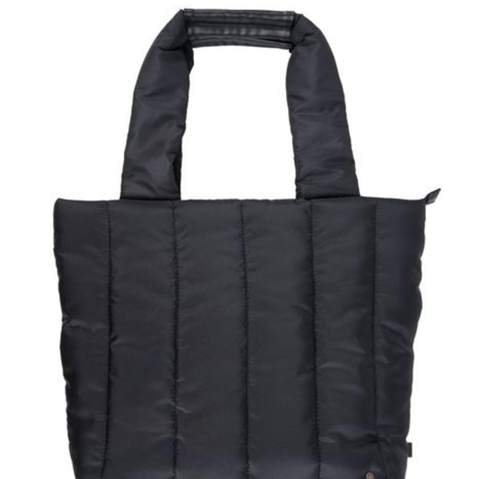 Zusss Shopper - Gewatteerd - Zwart