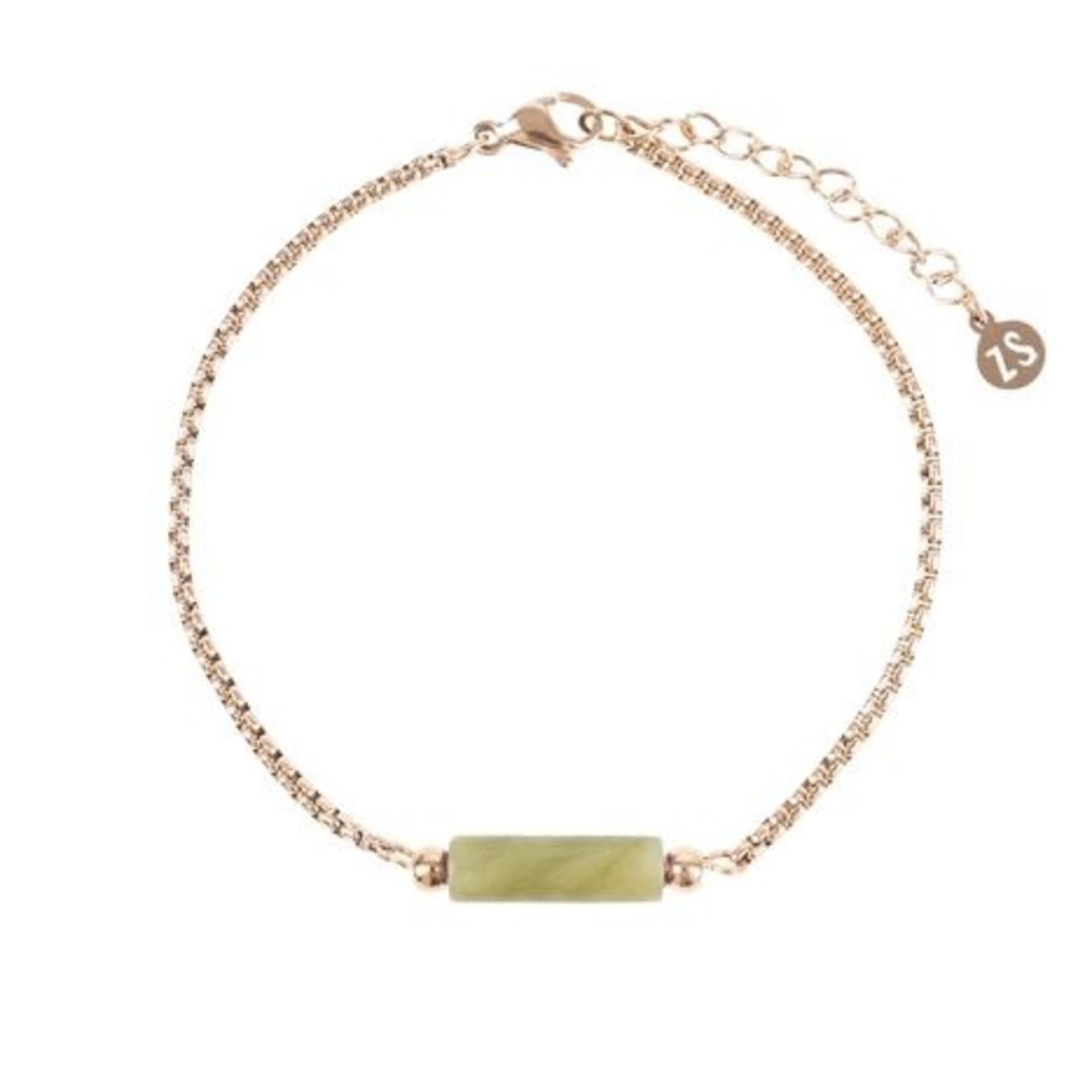 Zusss Armband - Chloriet - Goud