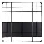 Memobord wire - Black  - 60x60cm
