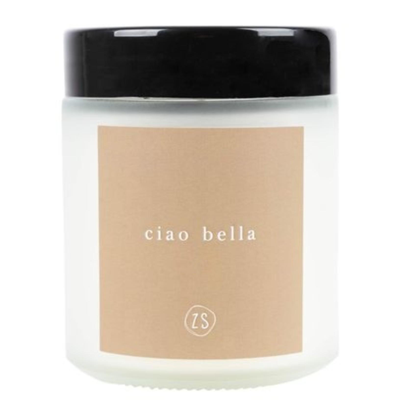 Zusss Geurkaars - Glazen pot - Ciao Bella - Kaki