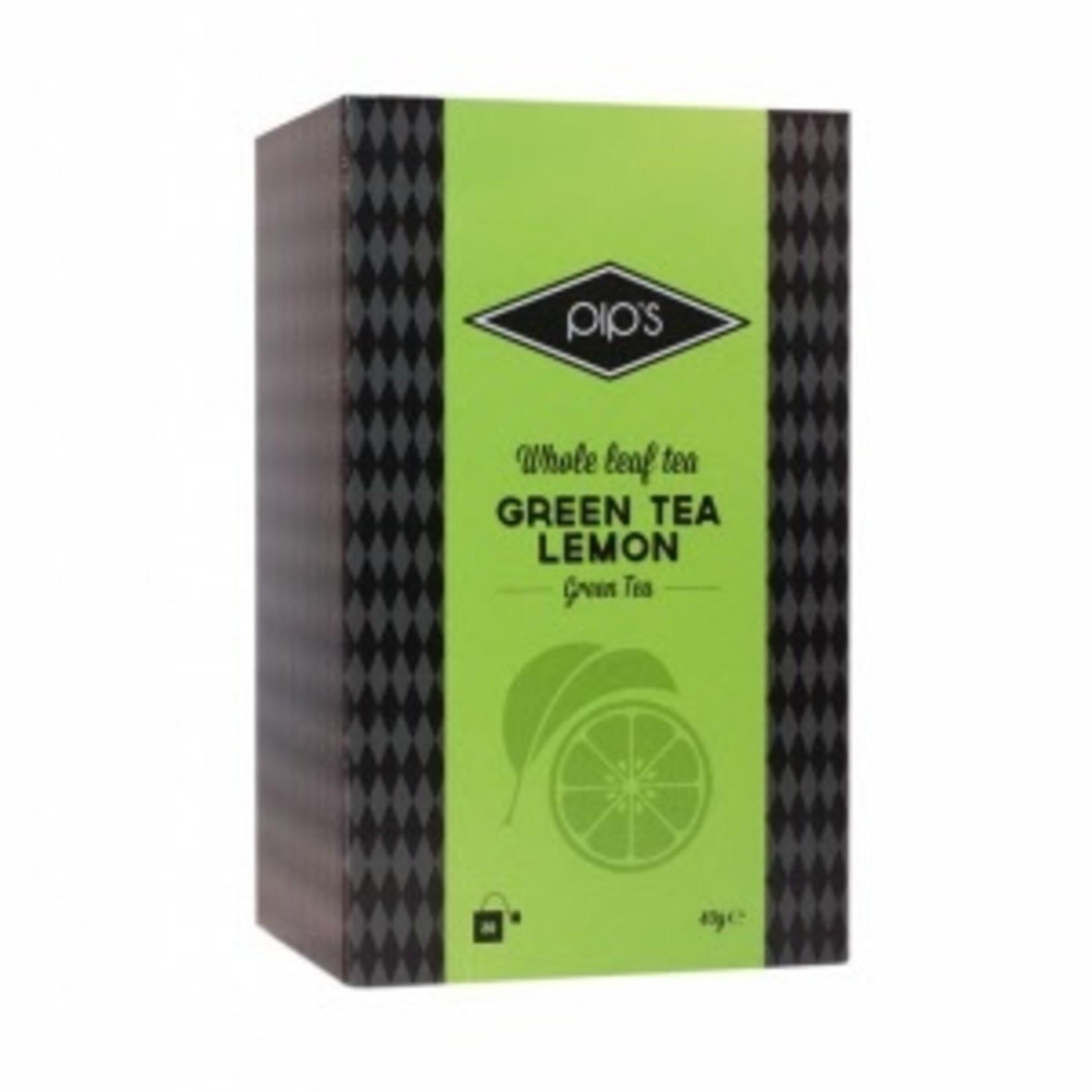 Pip's Thee Green Tea Lemon