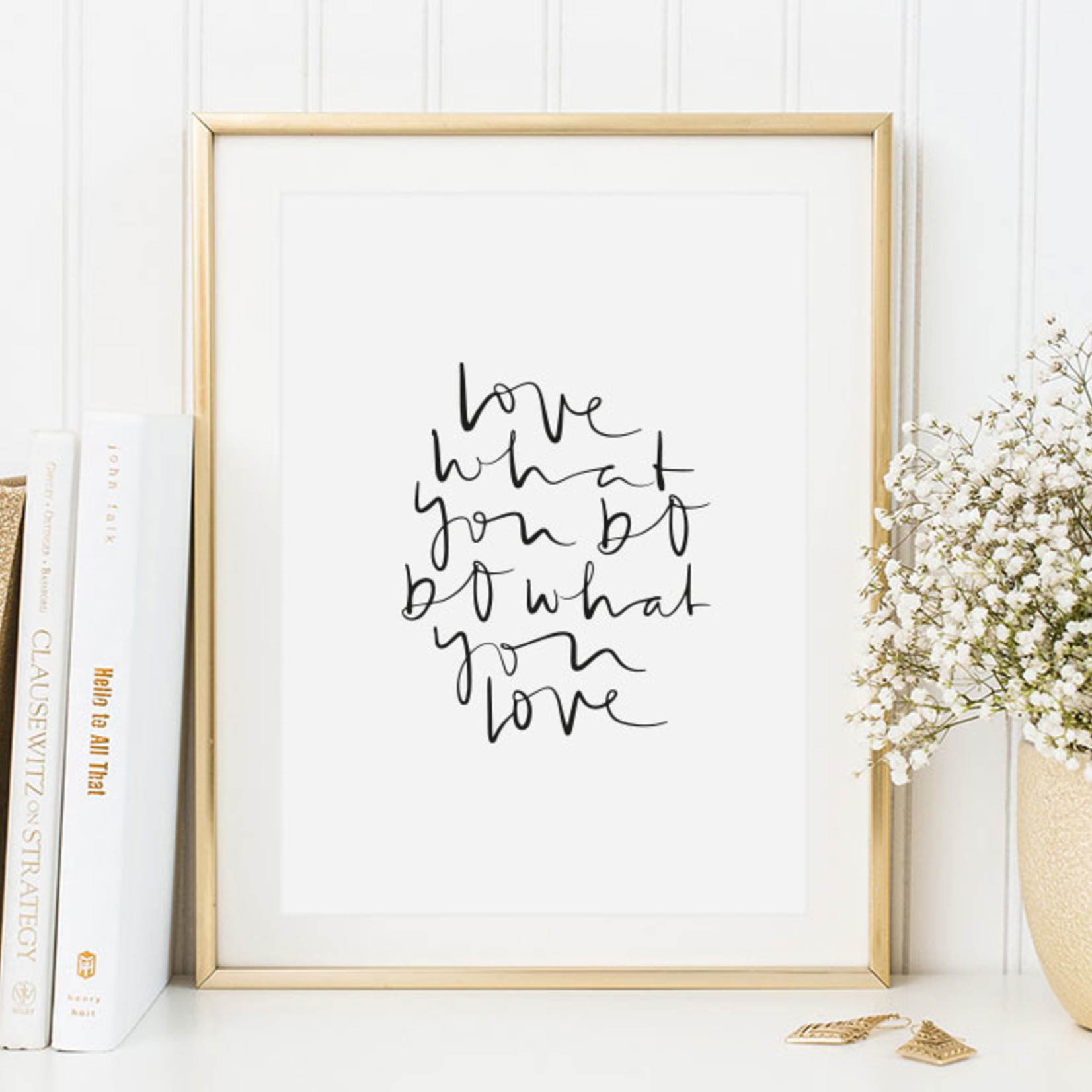 Tales by Jen Poster - Love what you do, do what you love - A4