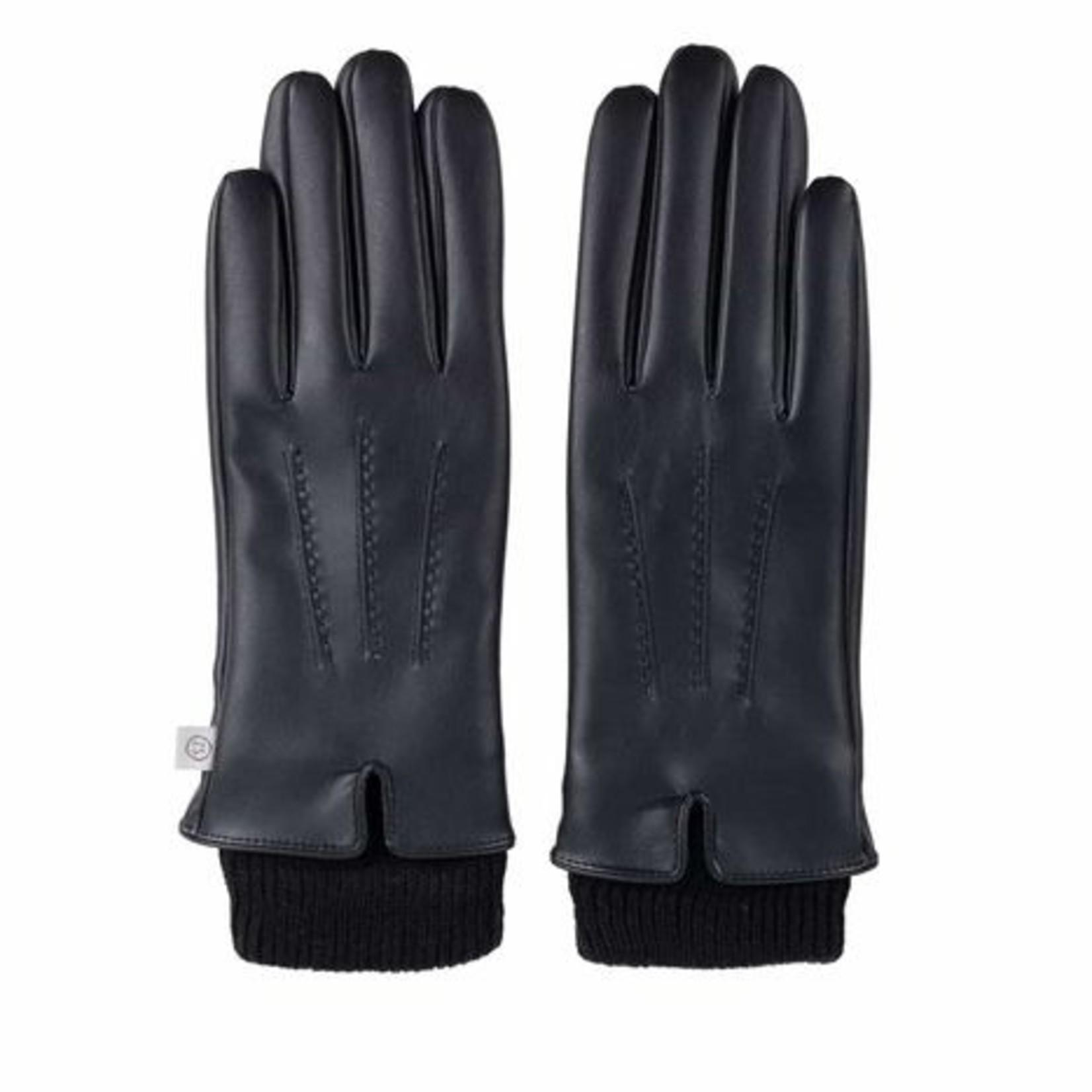 Zusss Handschoen - Fijn - Zwart
