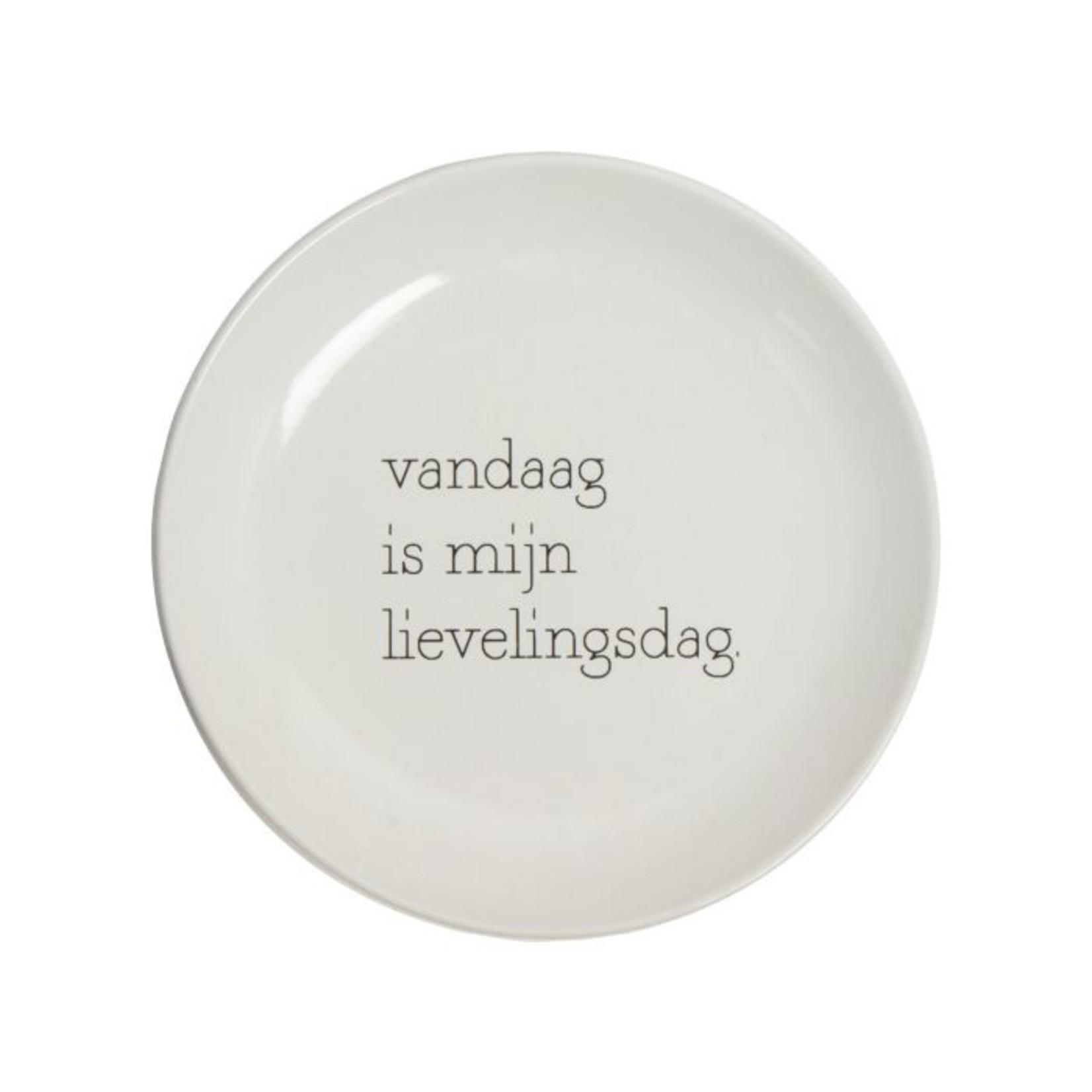 Gusta Ontbijtbord - Ø15cm - Set van 4 - Wit