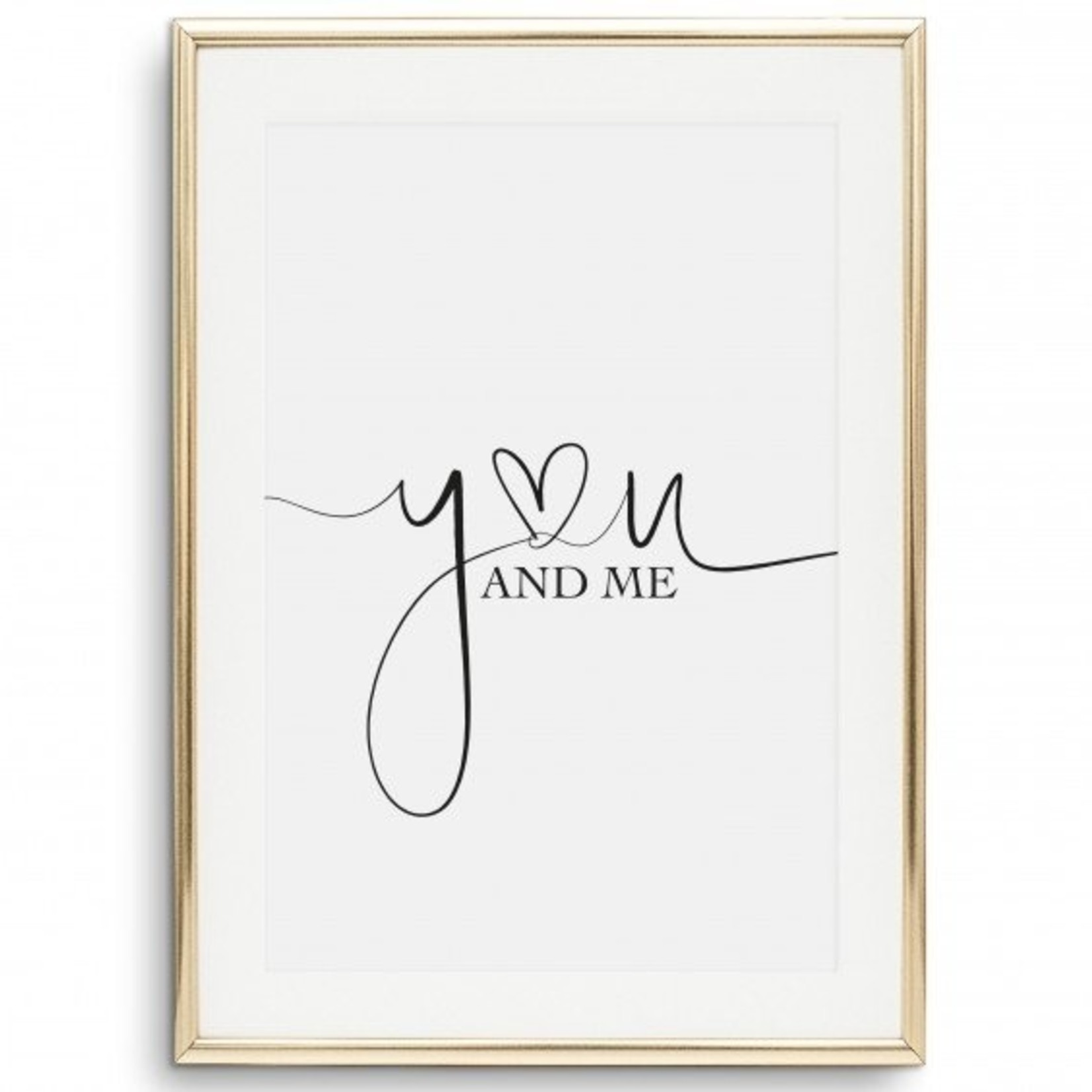 Tales by Jen Poster - You and me - A4 formaat