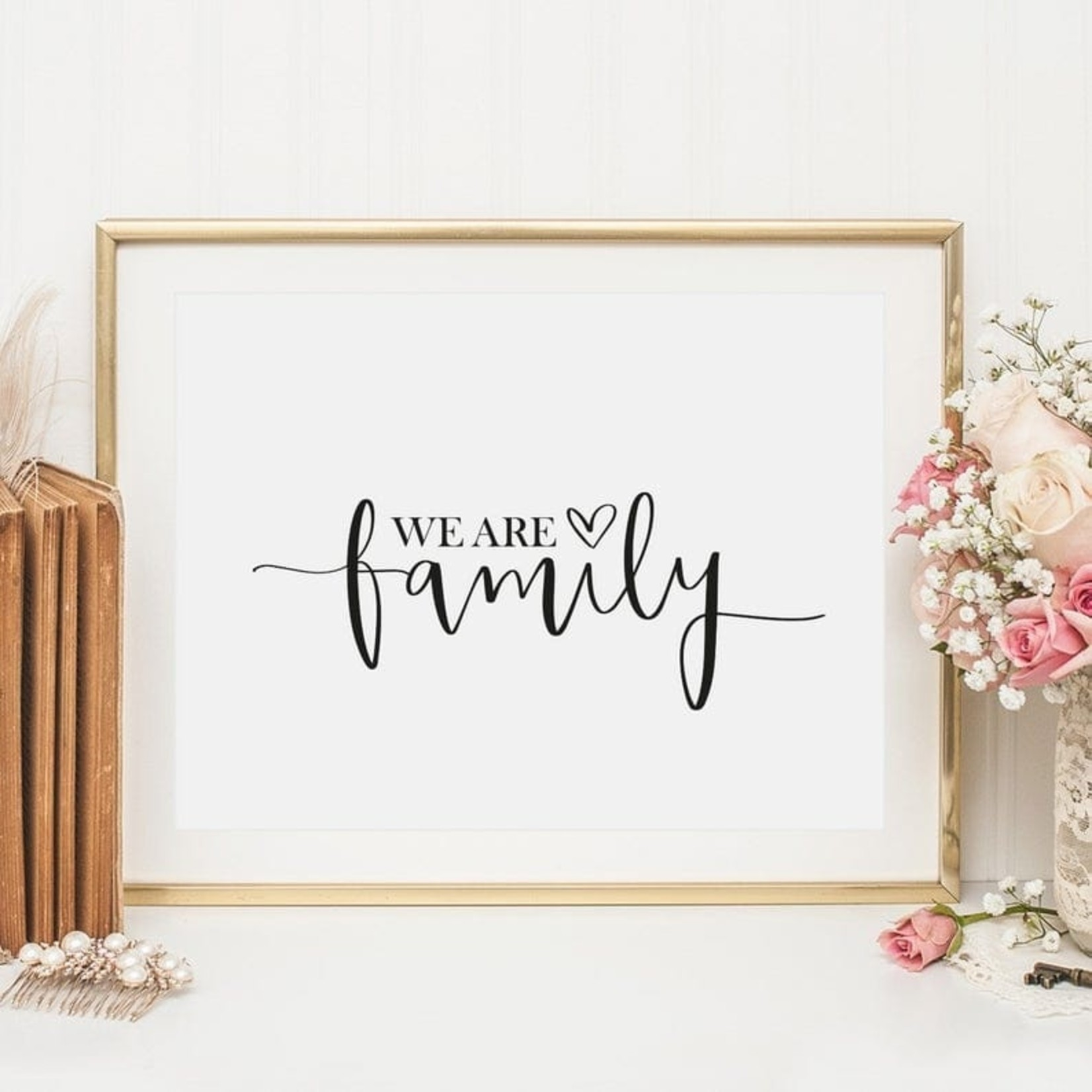 Tales by Jen Poster - We are family - A4 formaat