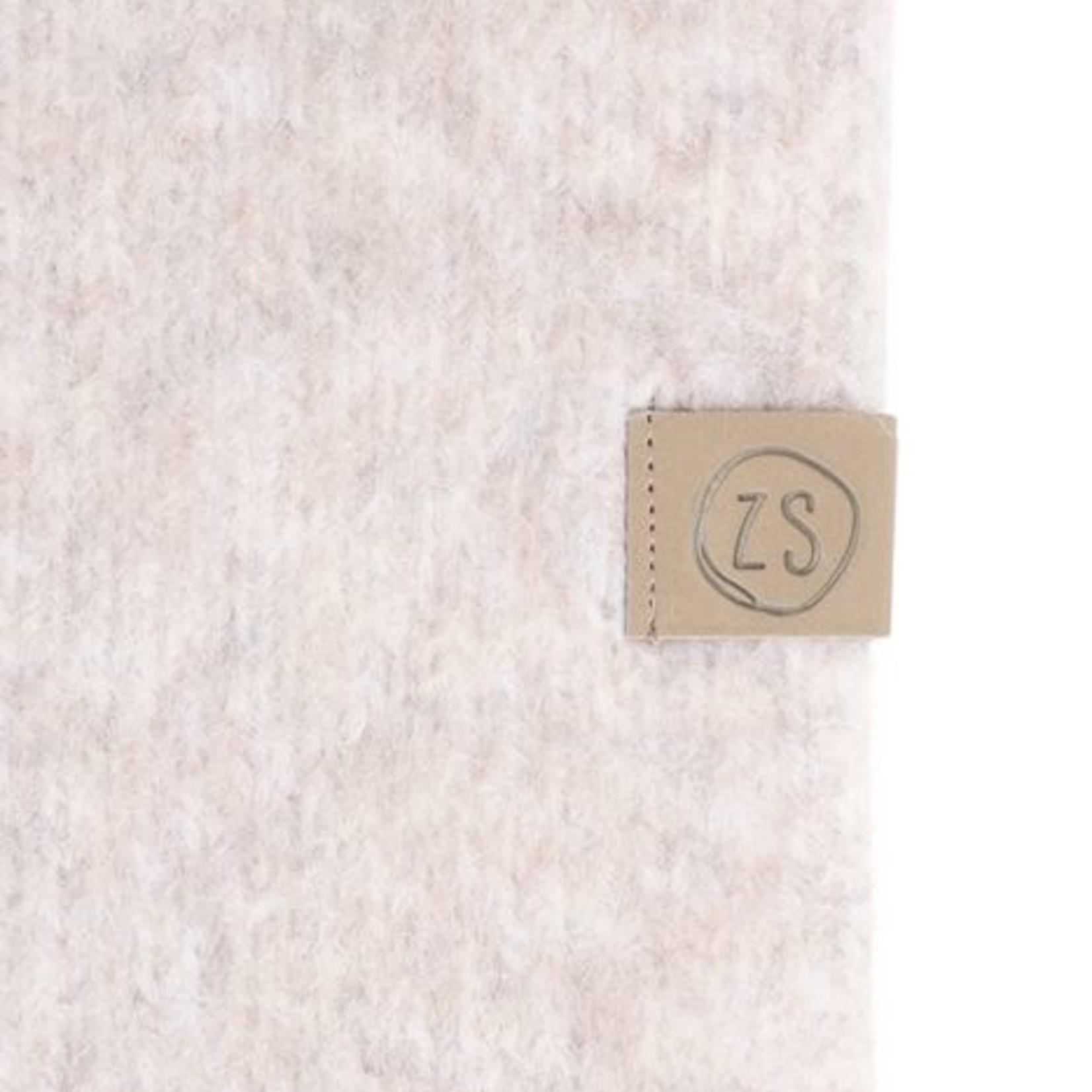 Zusss Sjaal met franjes - Crème