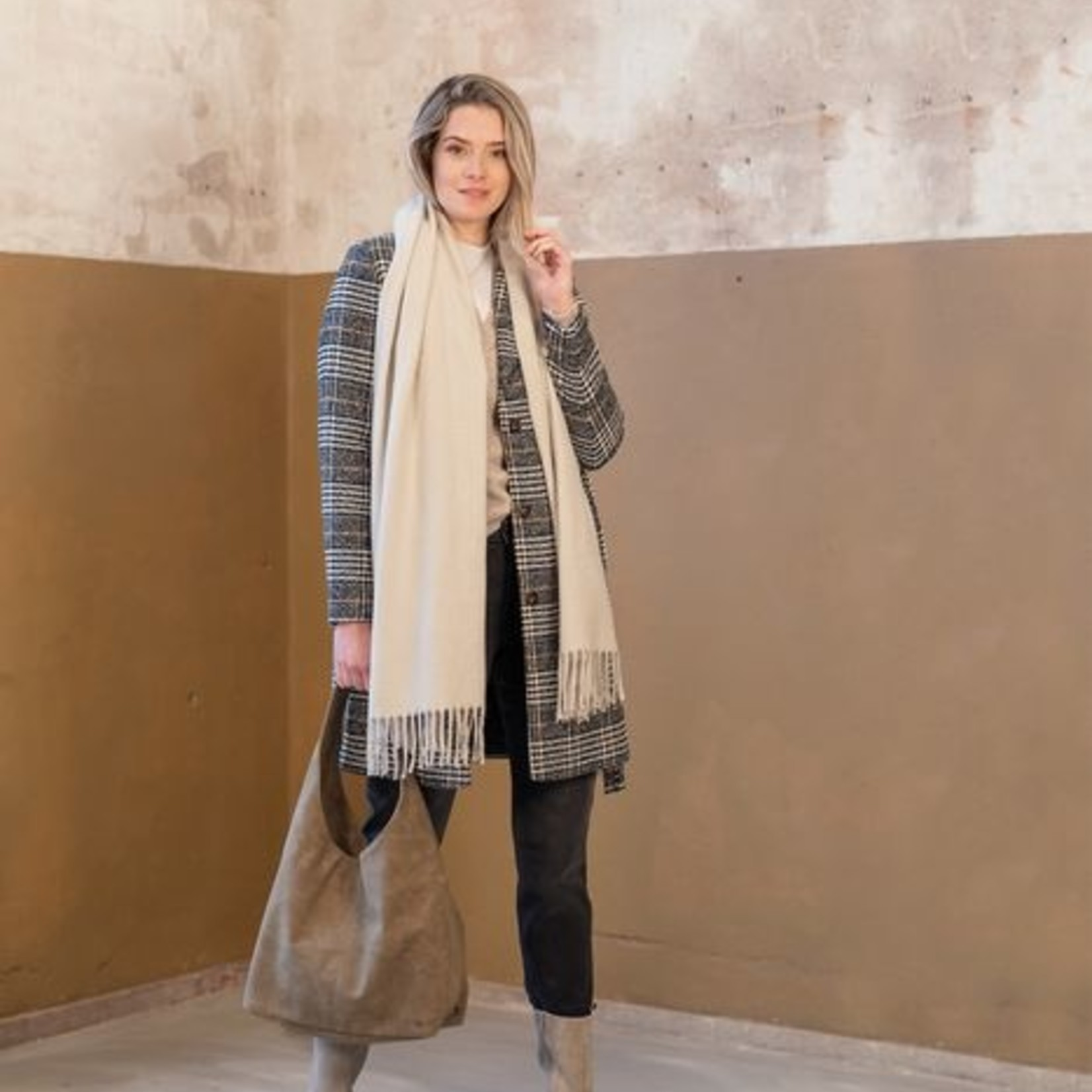 Zusss Shopper - Trendy - Taupe