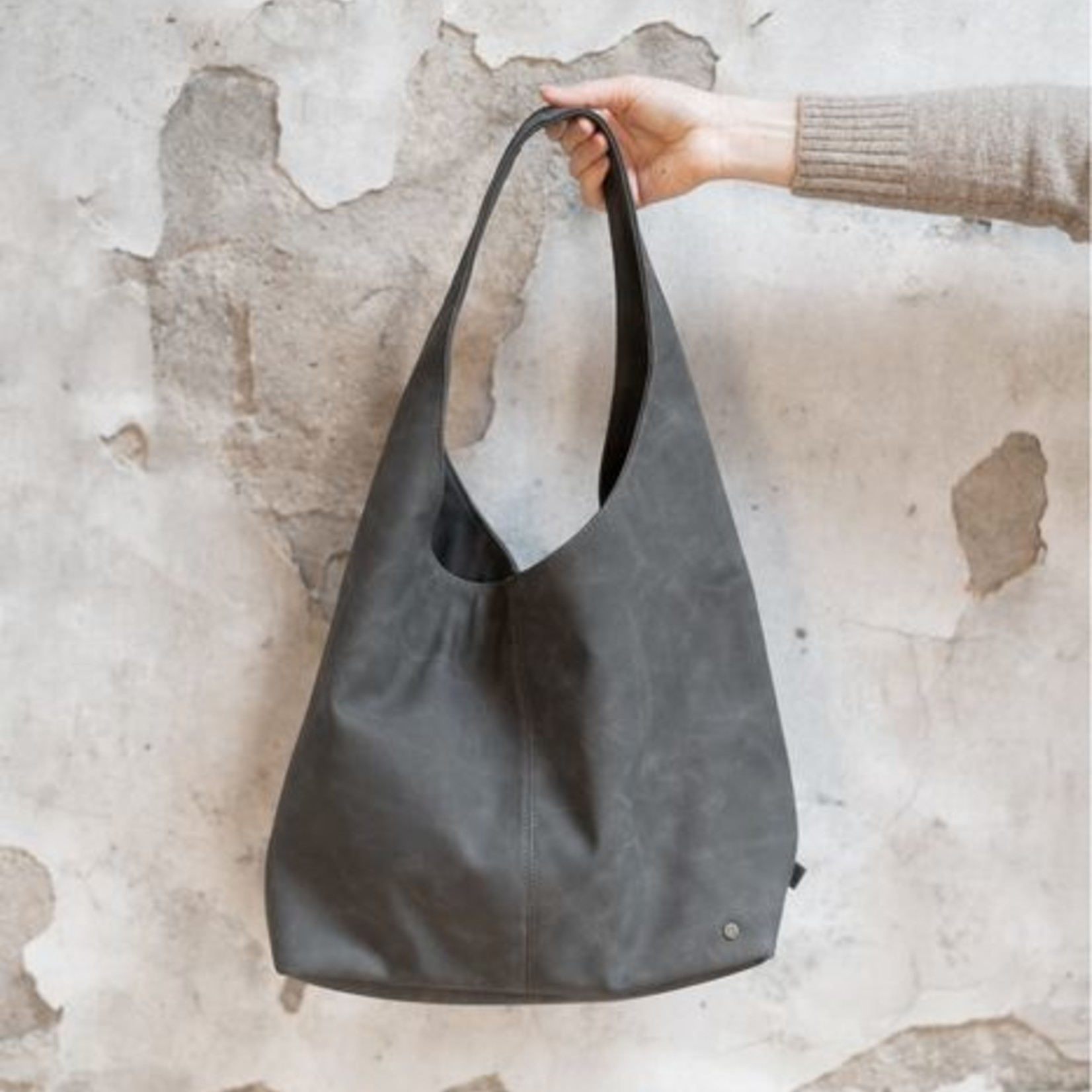 Zusss Shopper - Trendy - Antracietgrijs