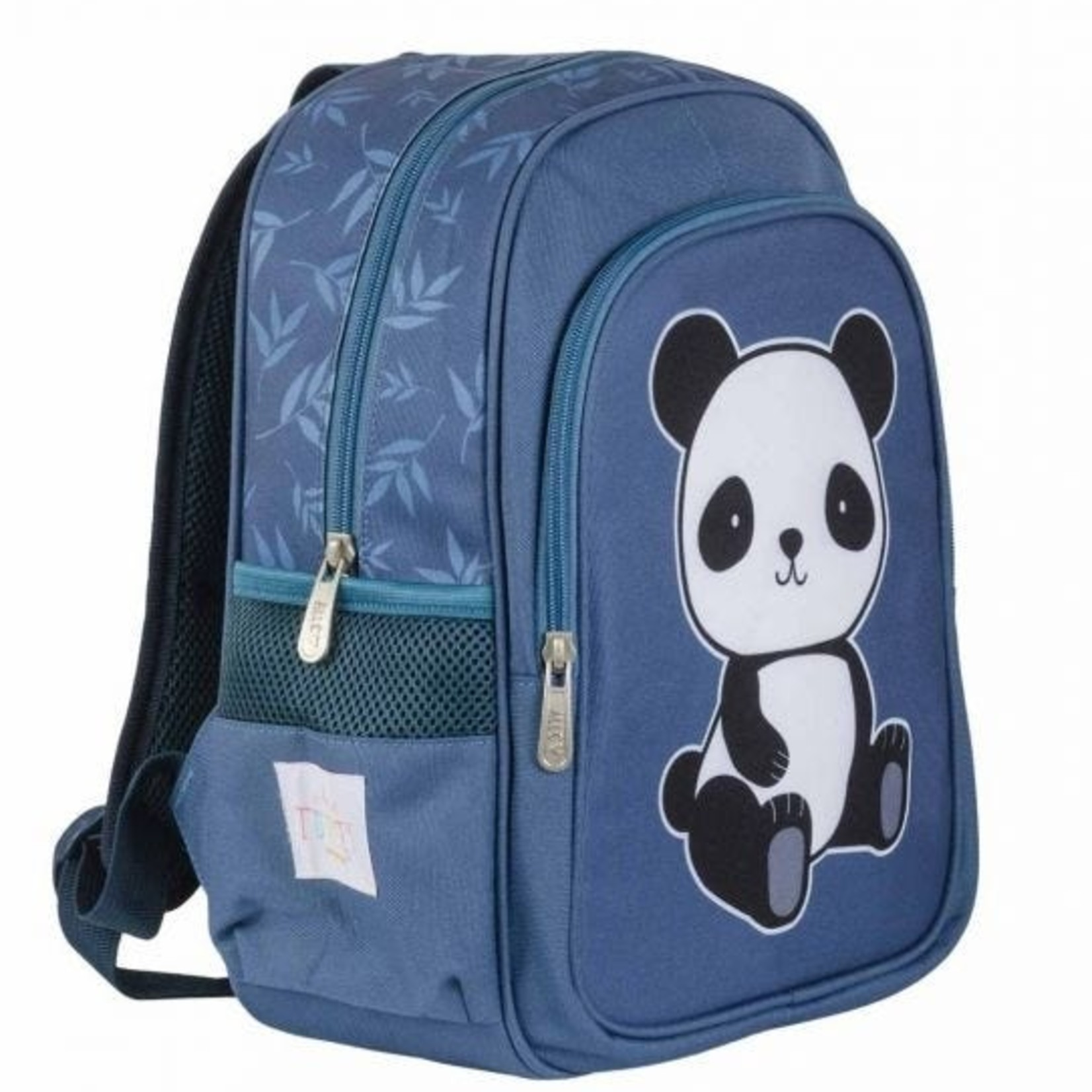 A little lovely company Rugzak - Panda - Blauw