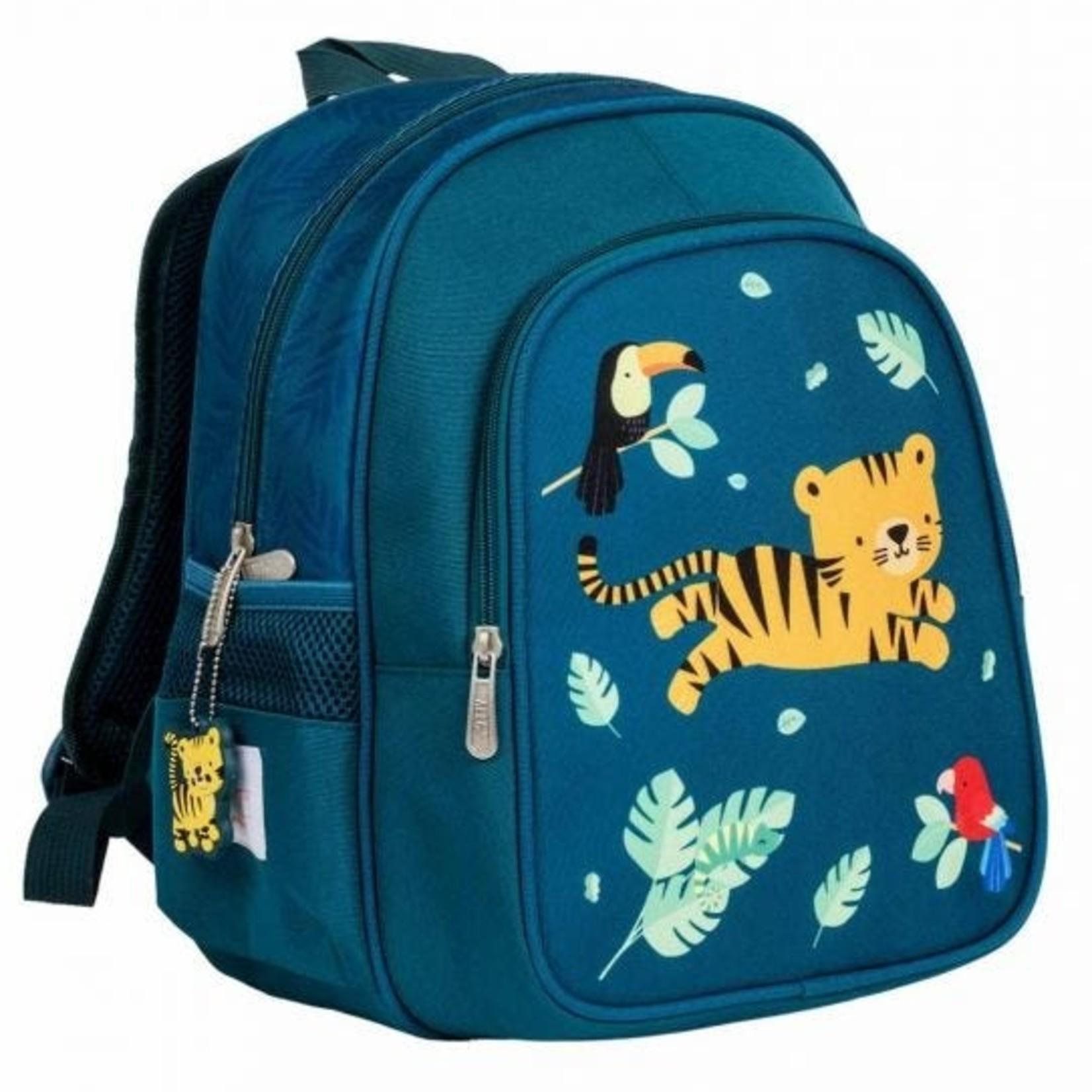 A little lovely company Rugzak - Jungle tijger - Koelelement - Groen