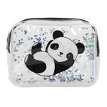 Toilettasje - Panda - Glitter