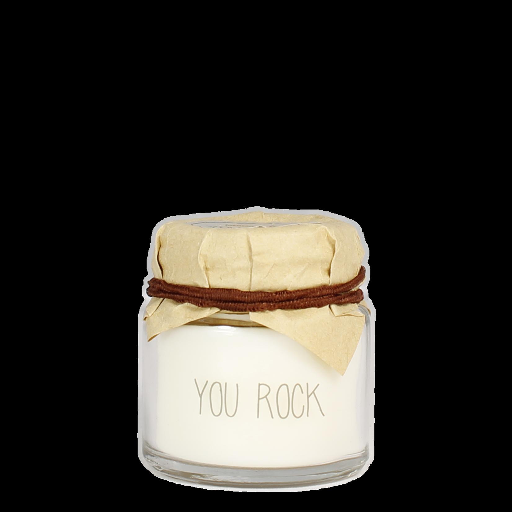 My Flame Sojakaarsje in glas - You Rock