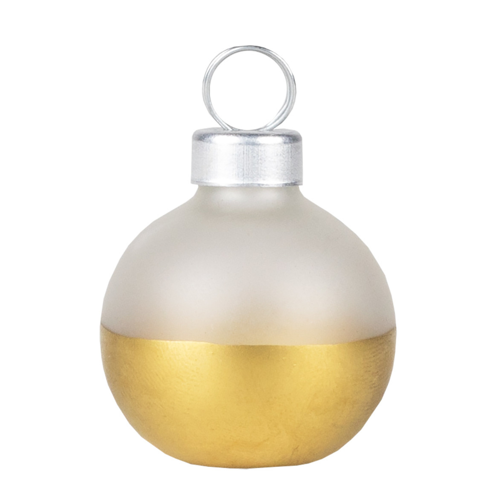 Räder Kaarthouders - Kerstballen - Wit/Goud - Set van 6