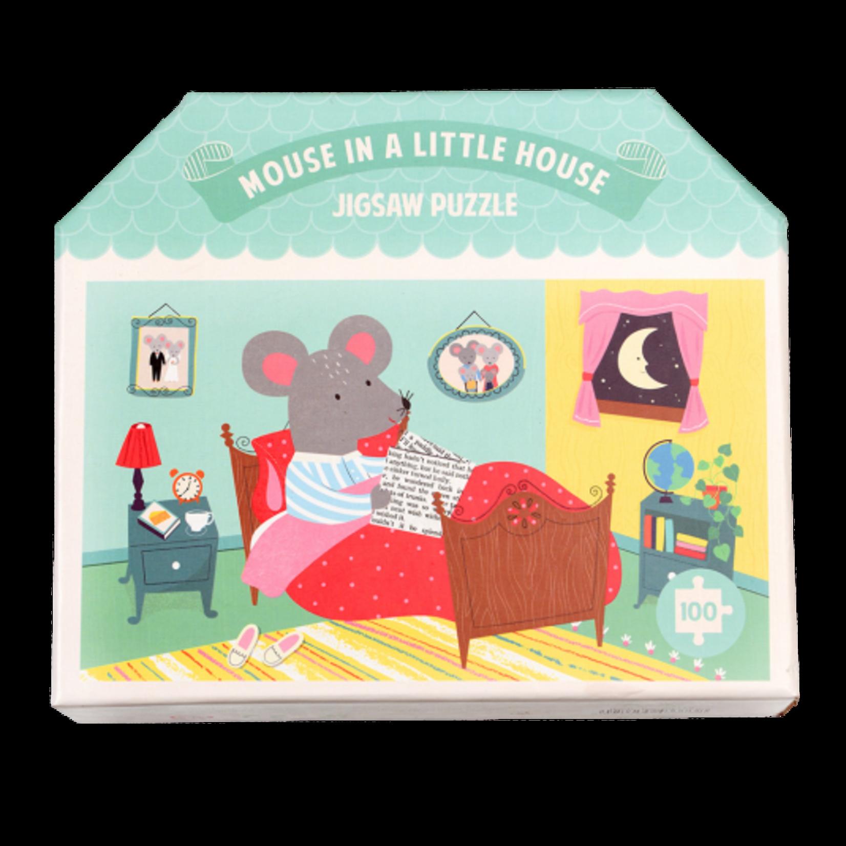 Rex London Puzzel - Mouse in a house - 100 stukjes