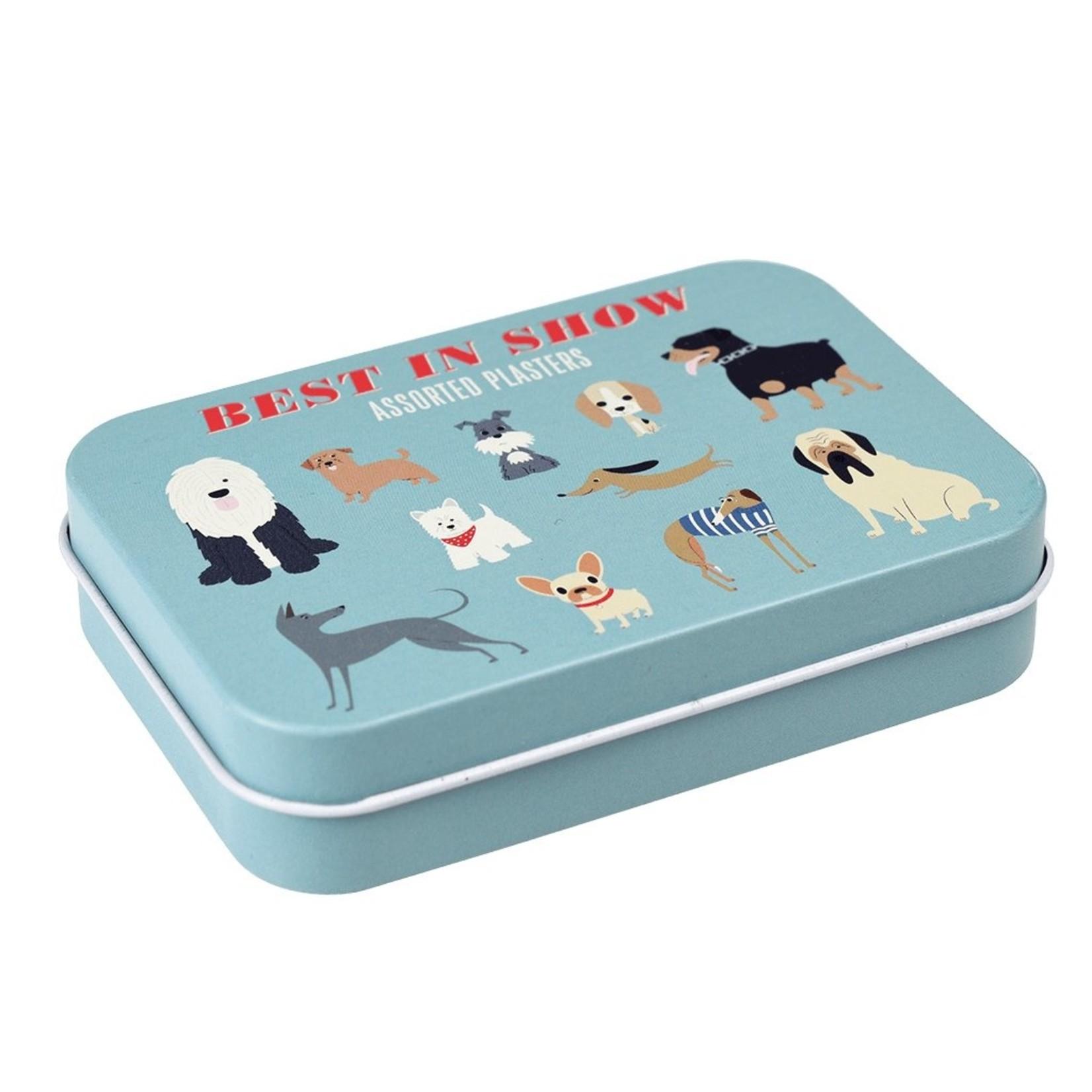 Rex London Pleisterdoosje - Honden - Blauw