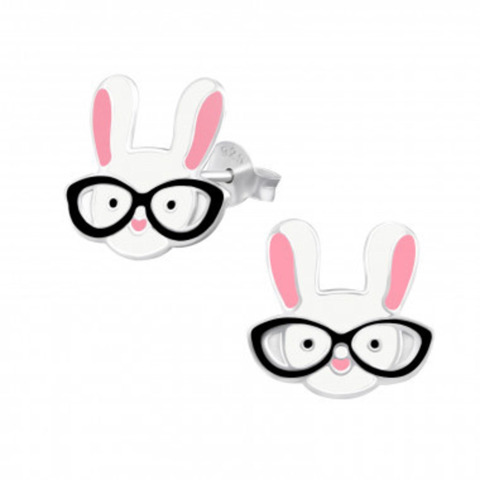 Oorstekers - Konijn met bril