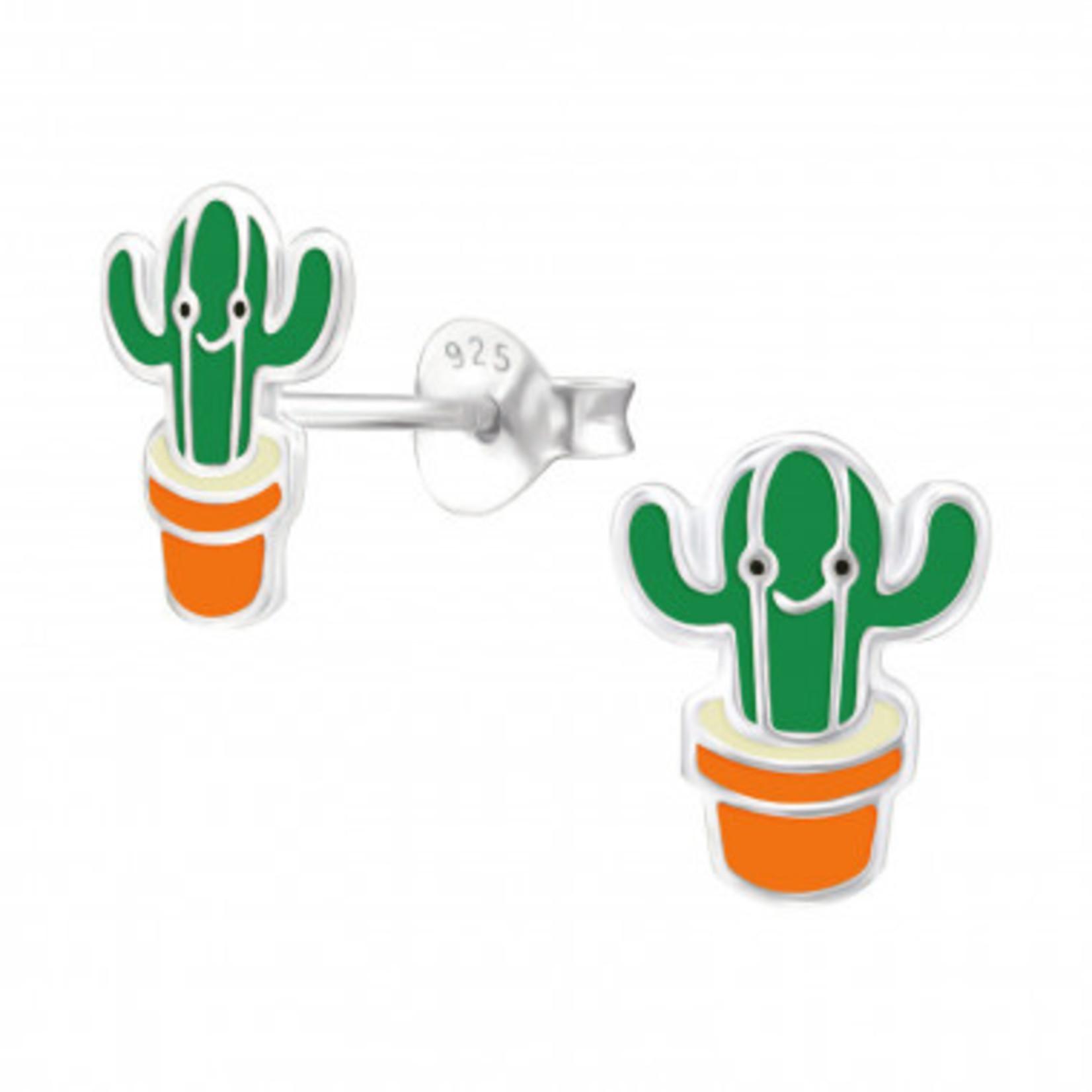 Oorstekers - Cactus in pot - Groen