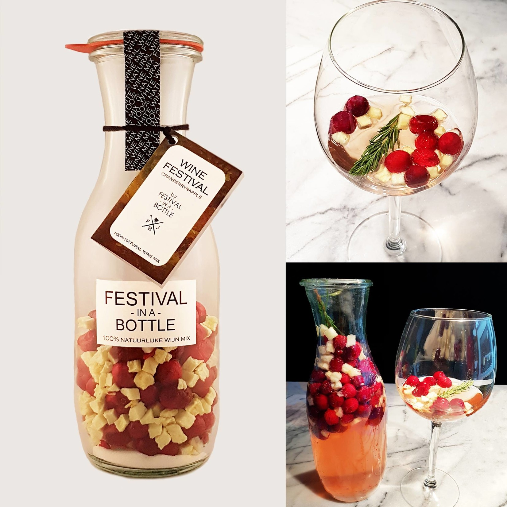 Festival in a bottle Wine festival - Cranberry & Apple