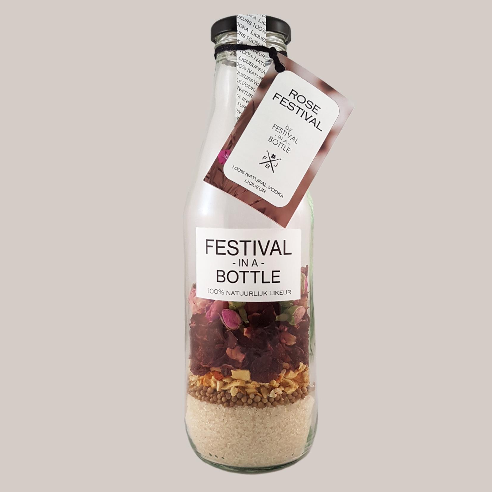 Festival in a bottle Rose festival