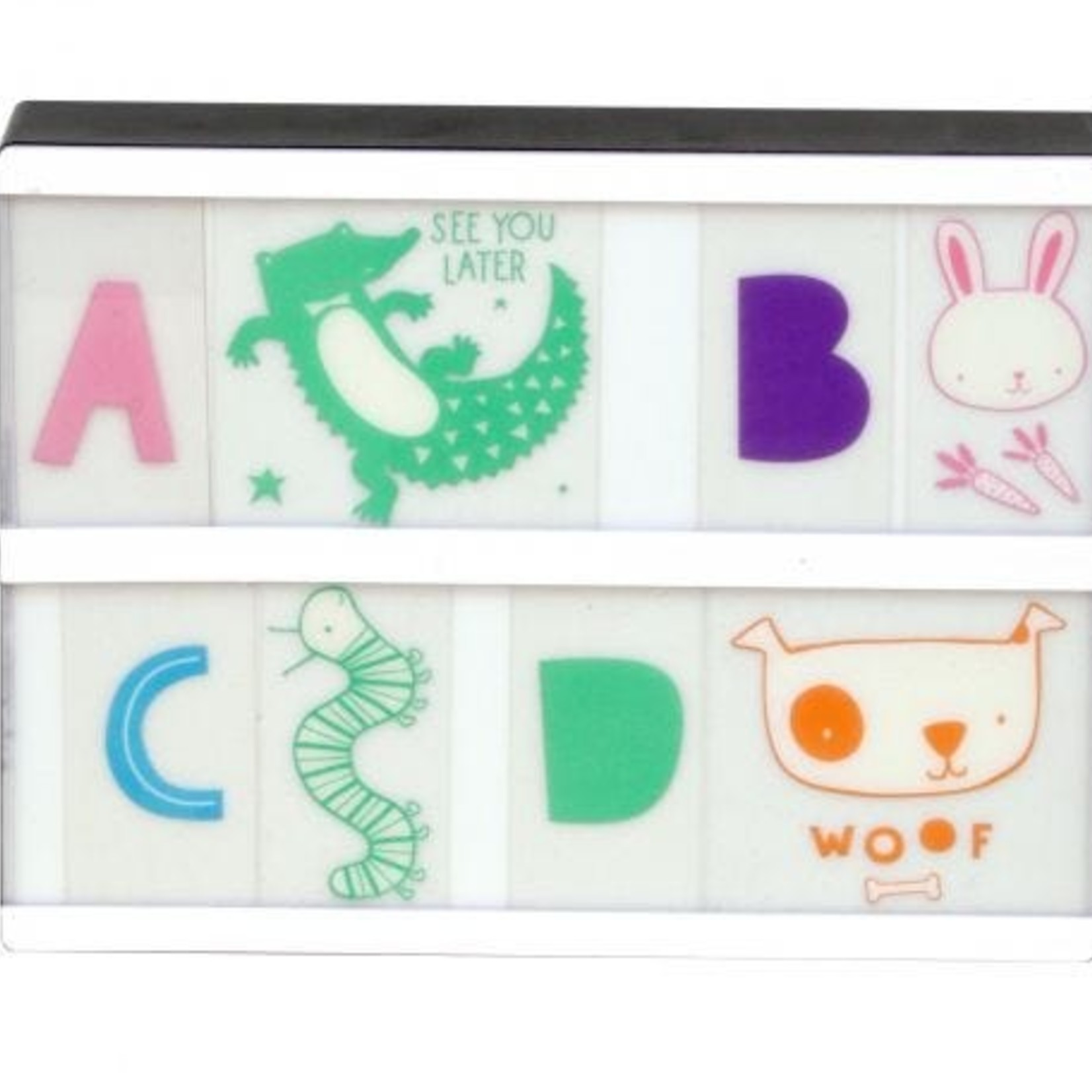 A little lovely company Letterset - 85 Pastel letters & Symbols