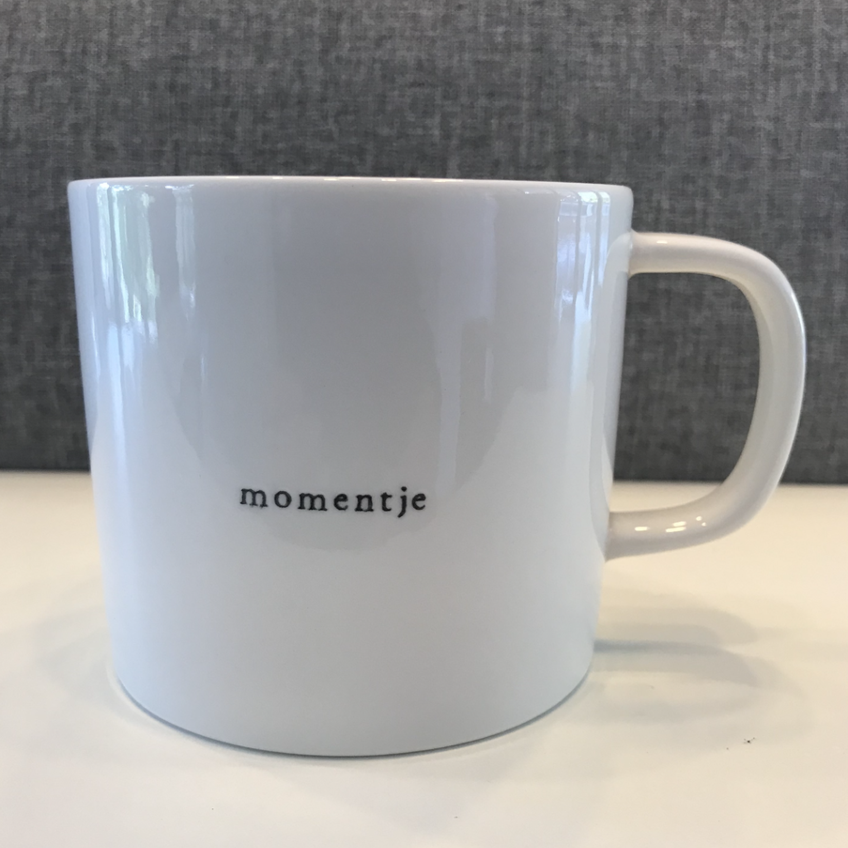Koffiemok - Momentje - Wit