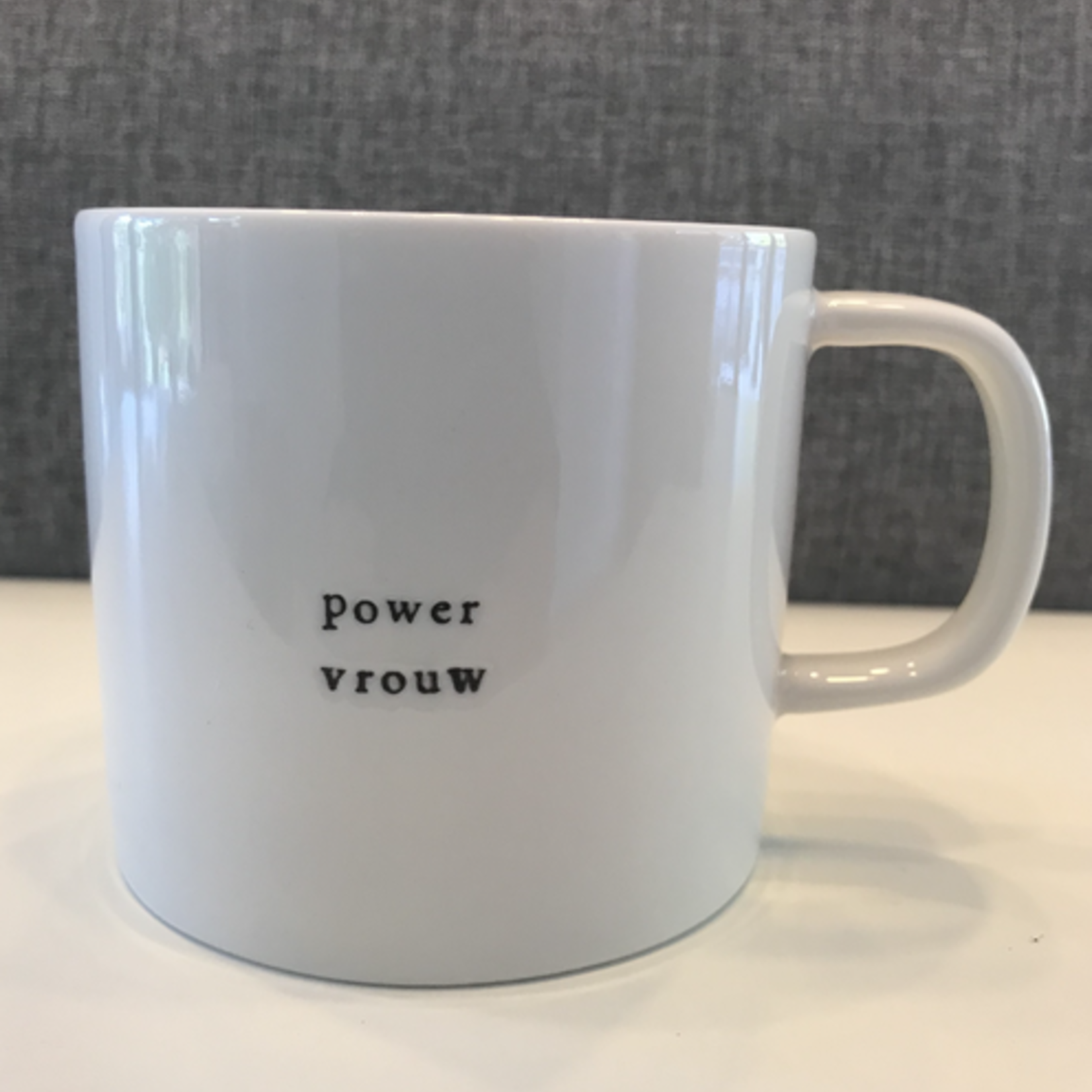 Koffiemok - Powervrouw - Wit