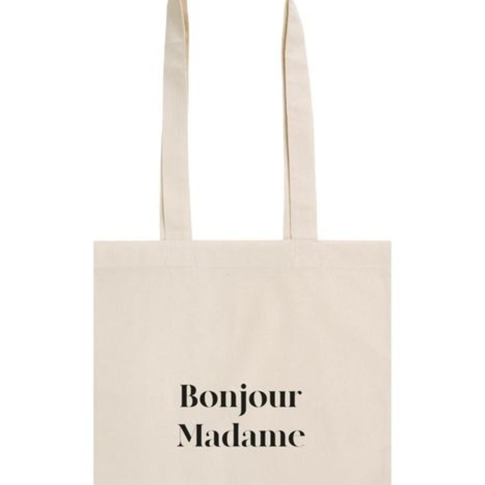 Zusss Katoenen tasje - Bonjour madame