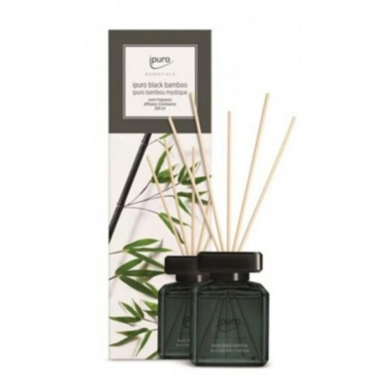 Ipuro Geurstokjes - Black bamboo - 200ml