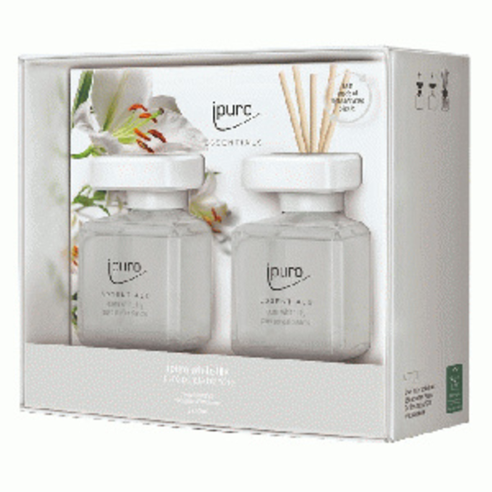 Ipuro Geurstokjes - White lily - 2x50ml